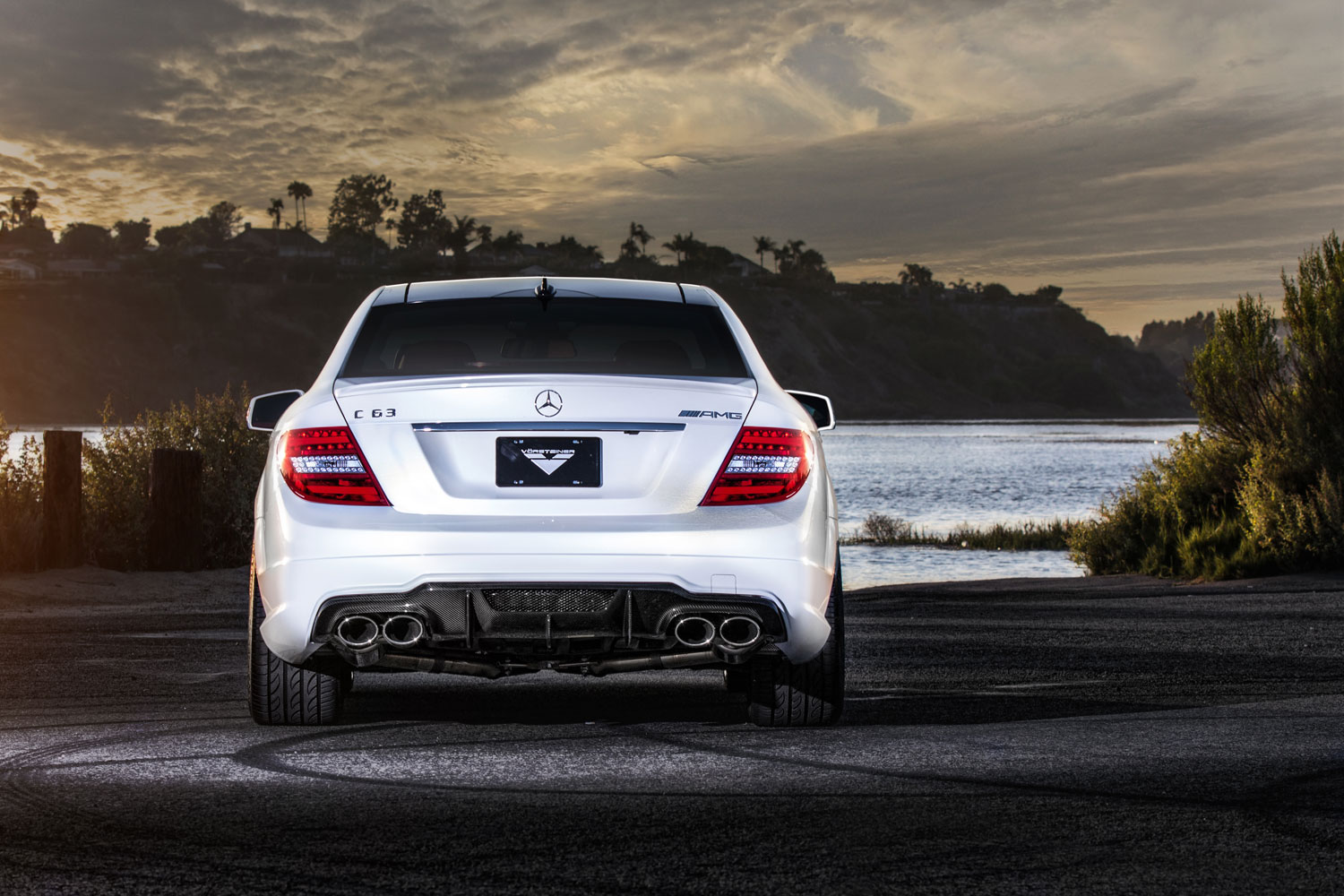 Vorsteiner Mercedes Benz C63 Amg With New Outdoor Photoshoot