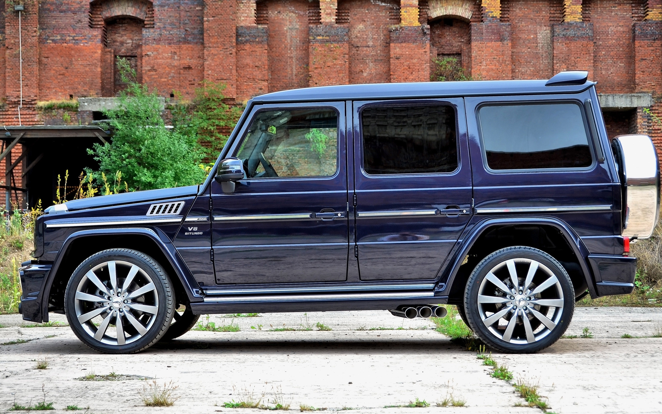 2013 art mercedes benz g55 amg streetline 65 picture 105346
