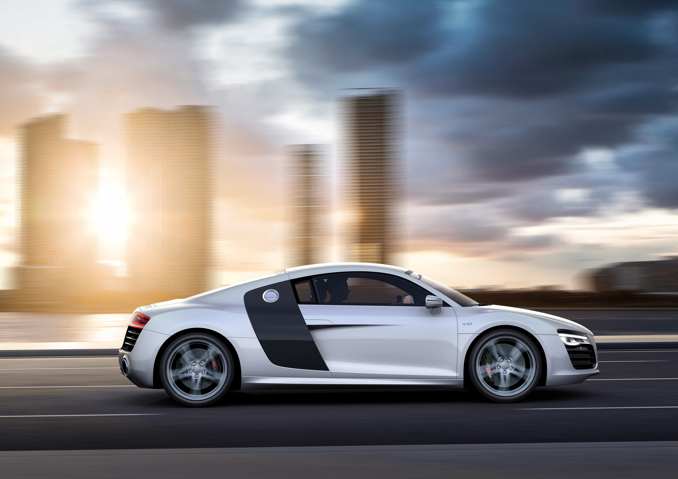 Amazing Audi R8 V10 Coupe