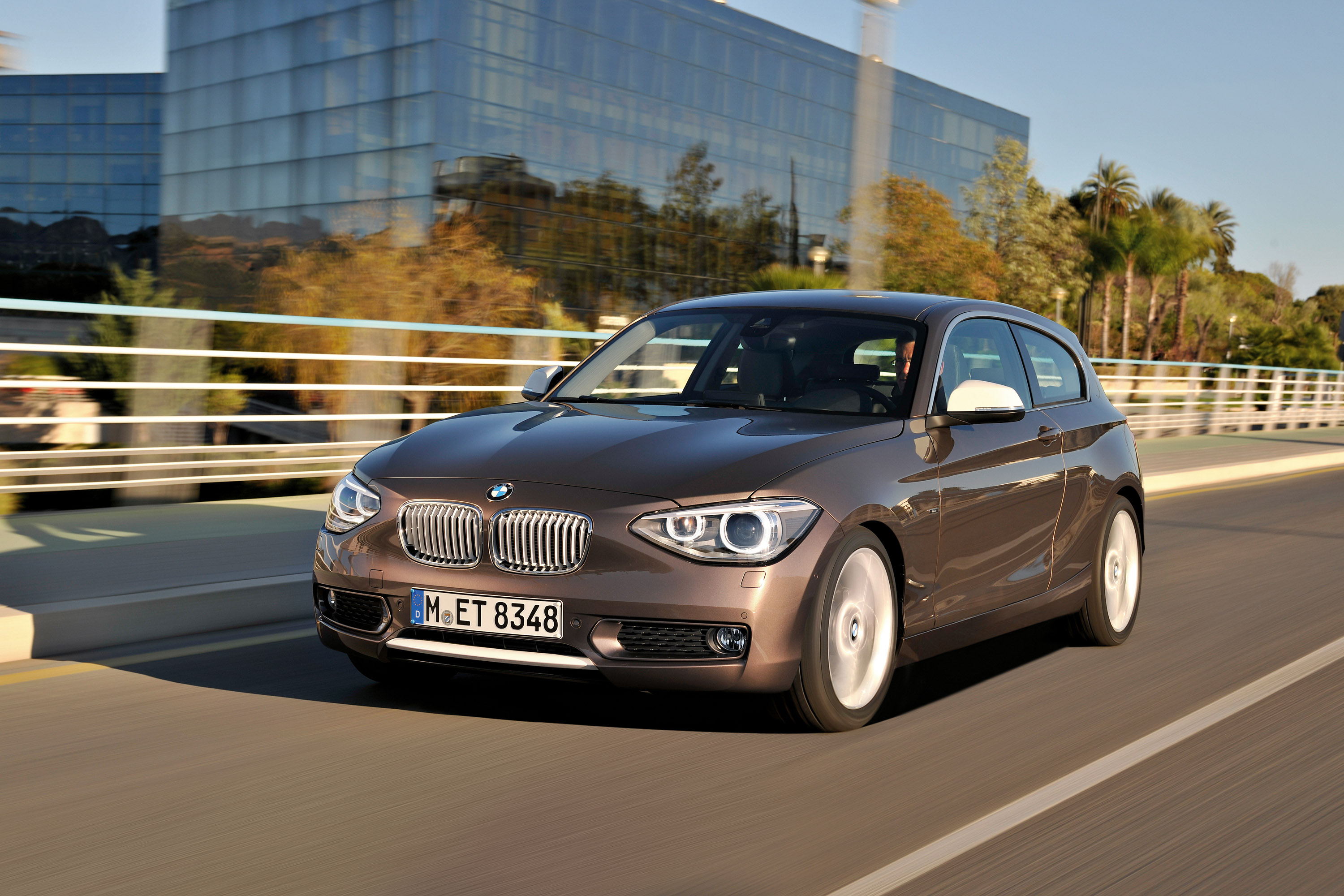 BMW comes out with the new threedoor 2013 BMW 1 Series