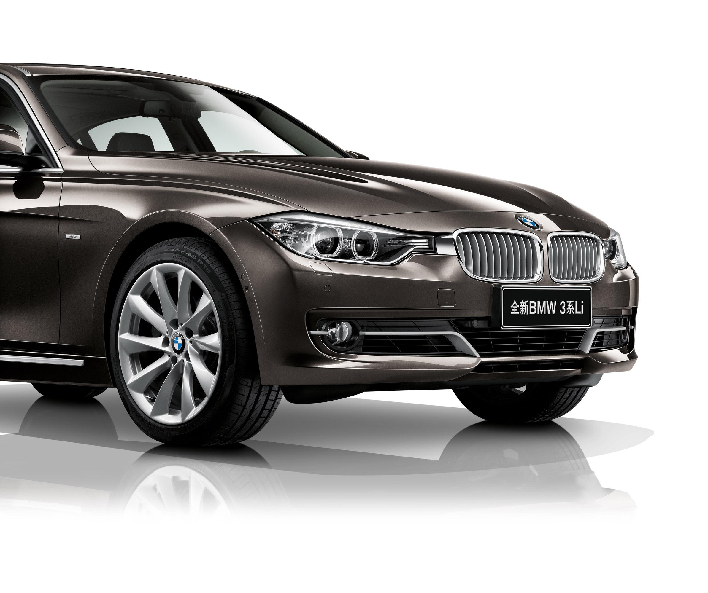 2013 BMW 3-Series Li At Auto China 2012
