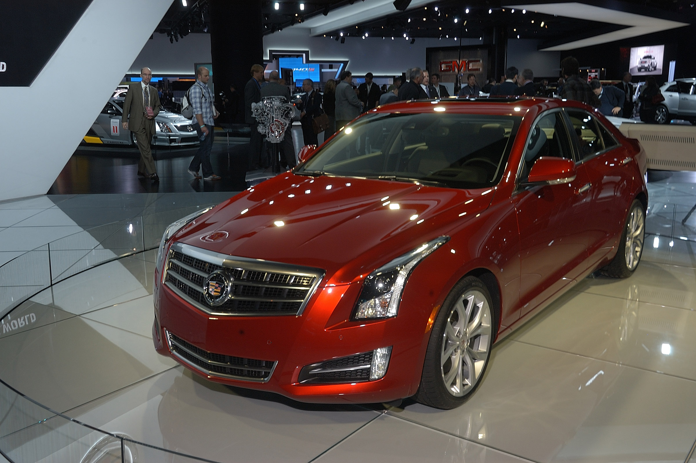 2013 cadillac ats detroit 2012 picture 63319. Black Bedroom Furniture Sets. Home Design Ideas