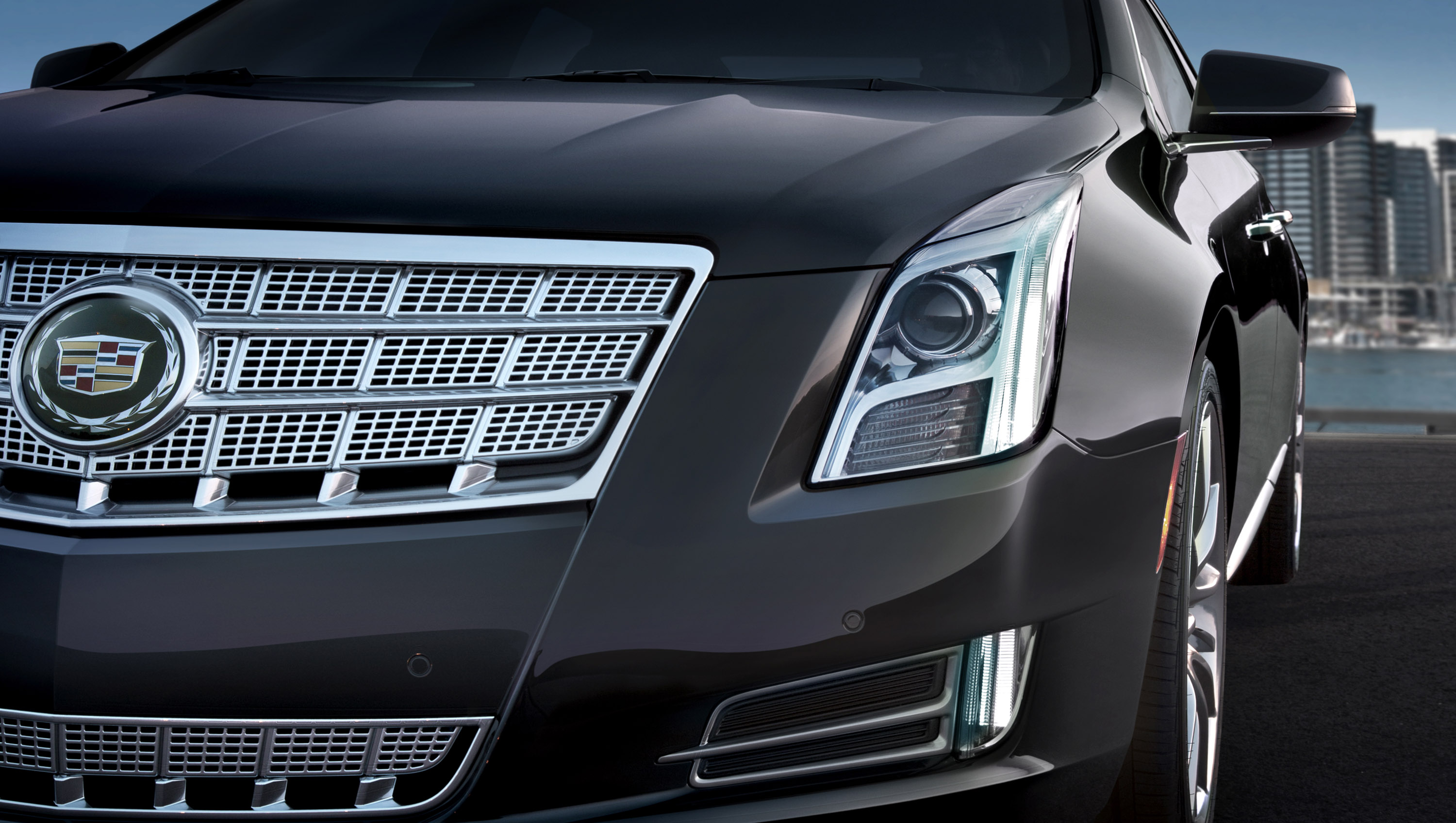 2013 cadillac xts luxury sedan pricing announced. Black Bedroom Furniture Sets. Home Design Ideas