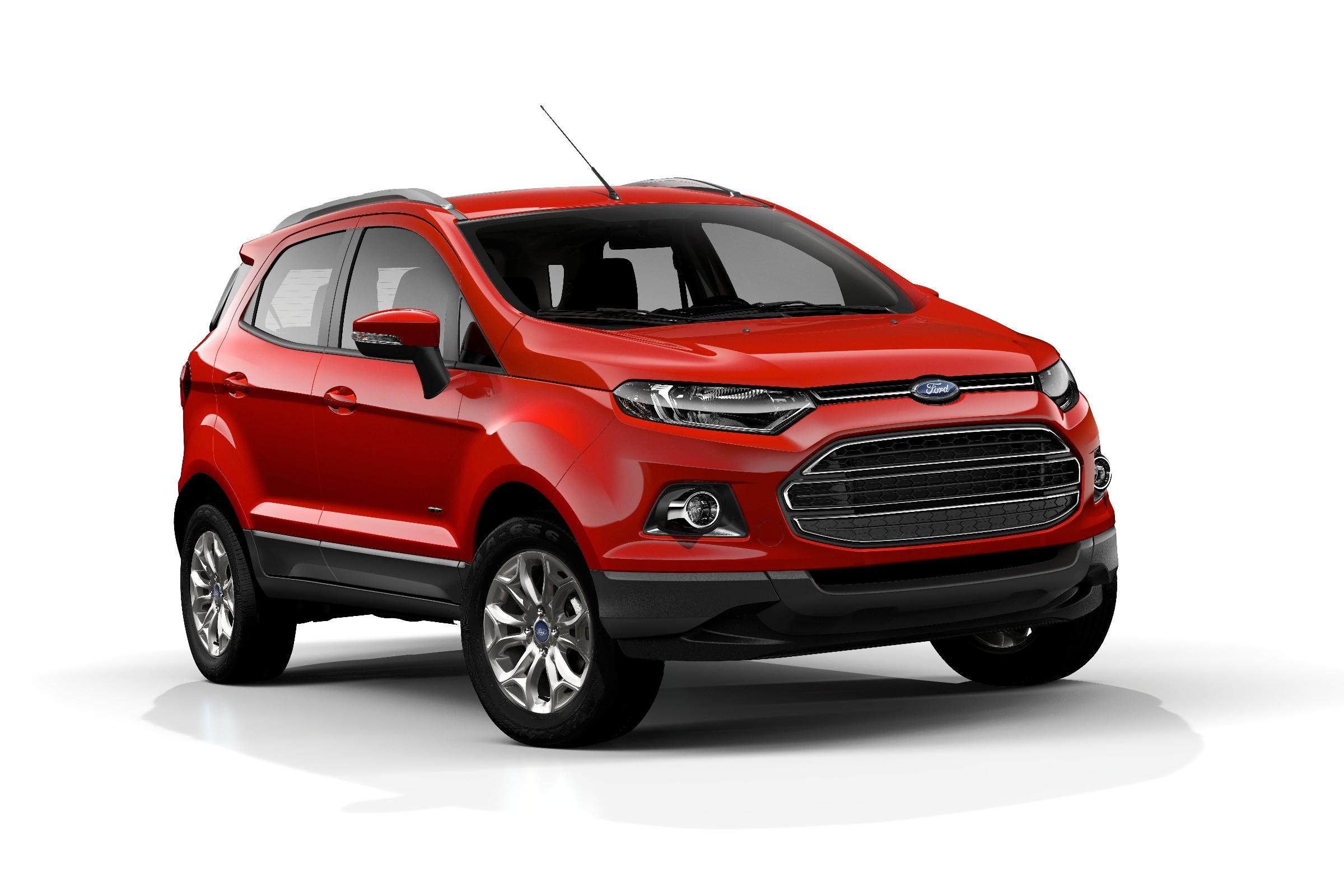 Ford Ecosport Suv Makes Debut In Paris