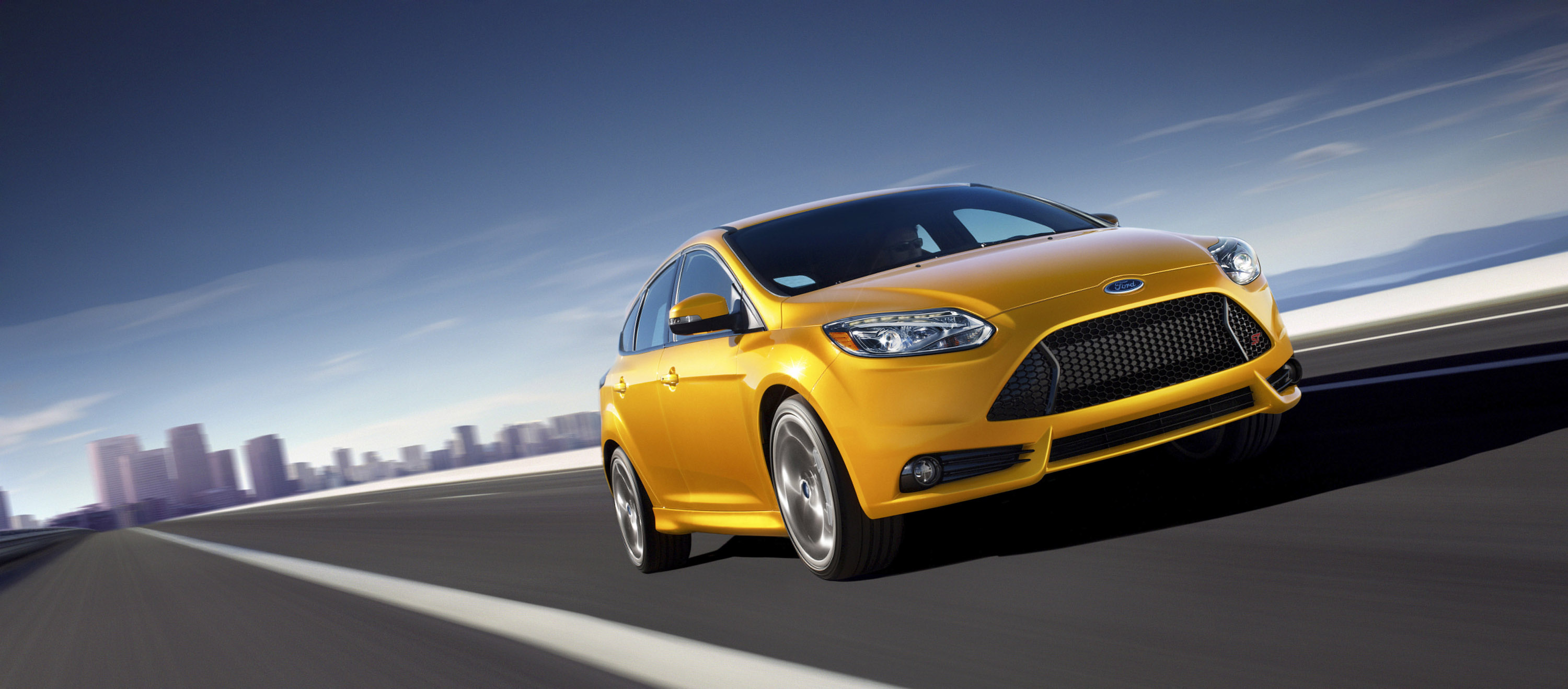 2013 ford focus st with factory overboost turbo engine. Black Bedroom Furniture Sets. Home Design Ideas