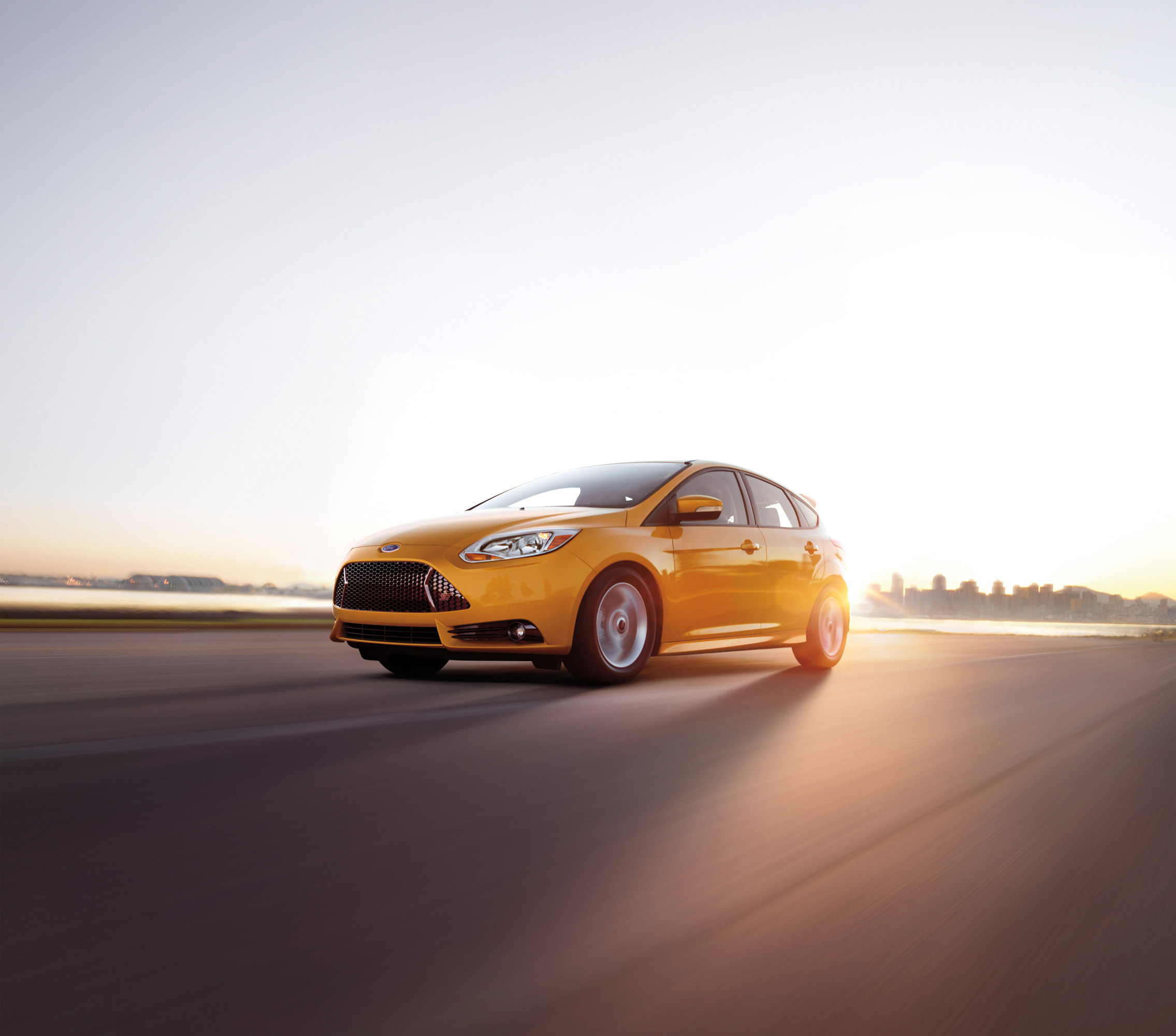 2013 ford focus st with factory overboost turbo engine