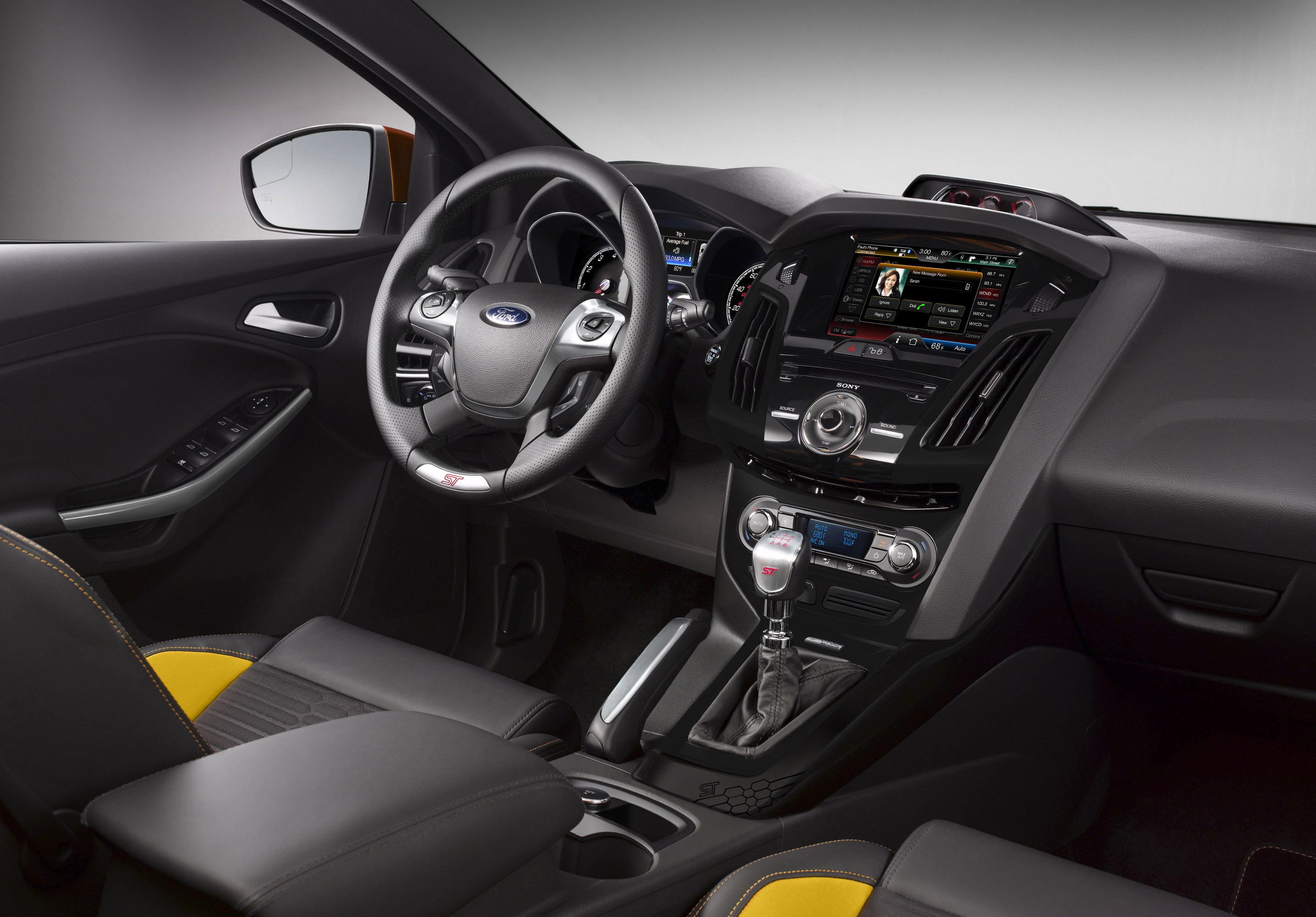 2013 Ford Focus St With Announced Price 2014 Seats