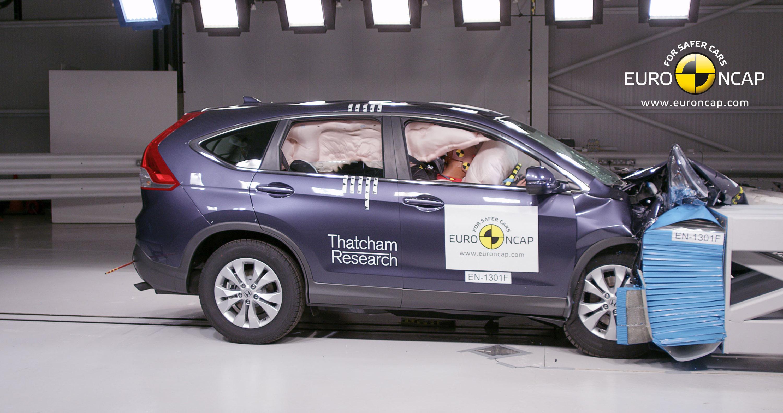 Honda Crv Crash Test Of 2013 Honda Cr V 5 Stars In Euro Ncap Crash Test