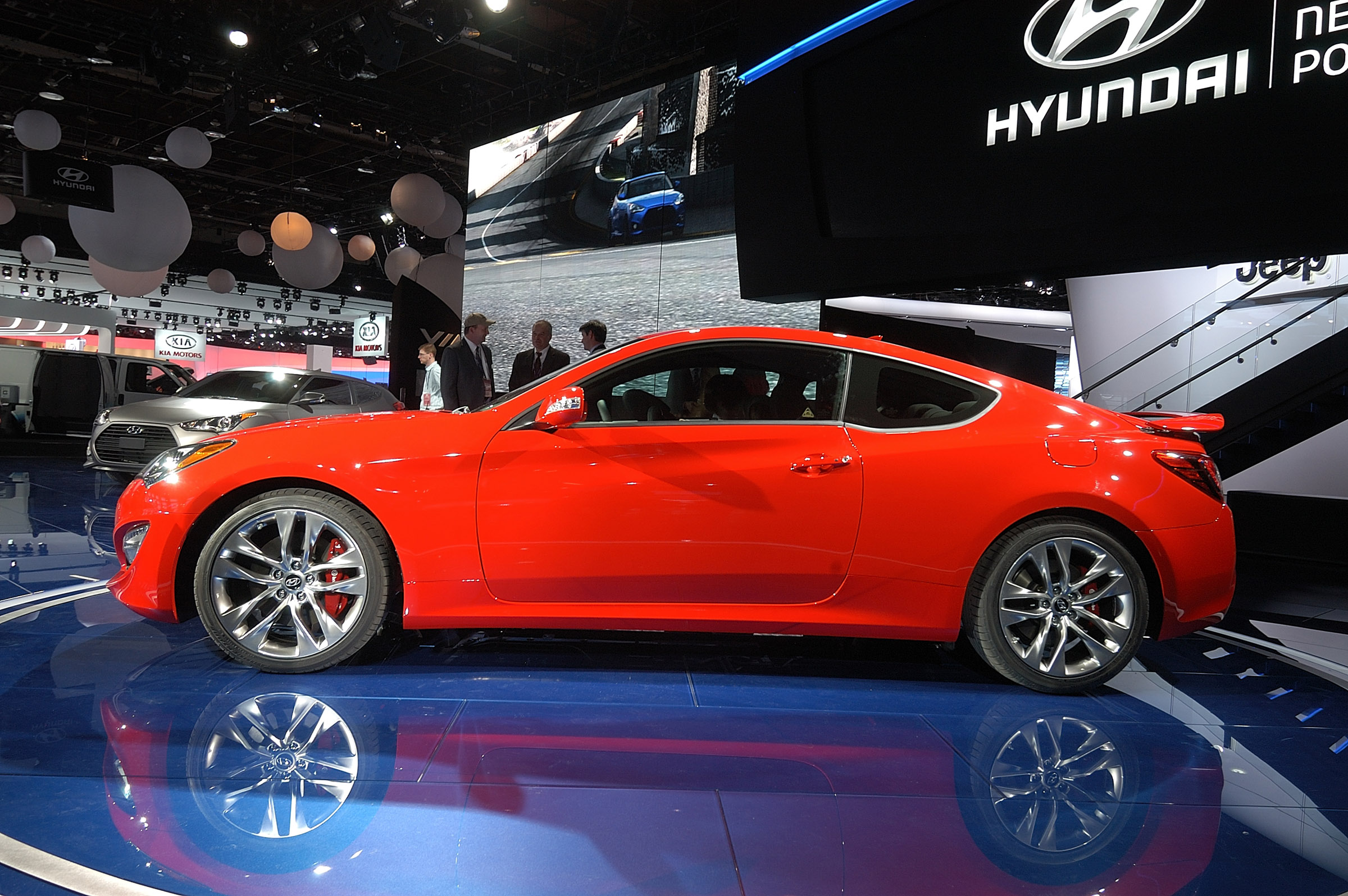 High Quality 2013 Hyundai Genesis Coupe Detroit
