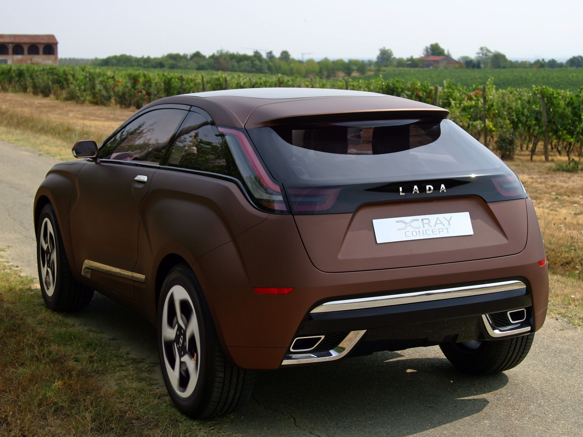 lada  ray concept world premiere  moscow video