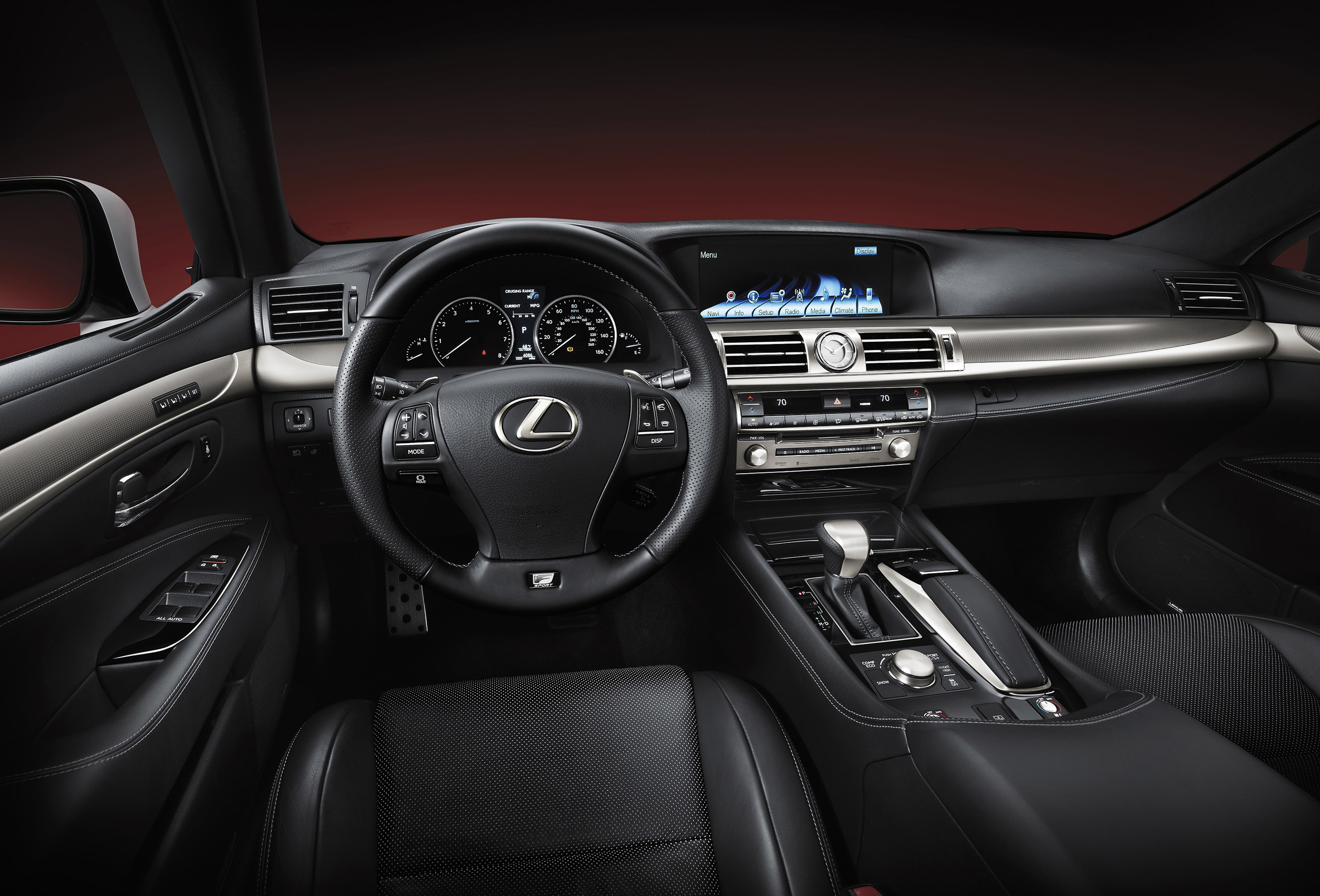 Lexus Launches 2013 LS Line