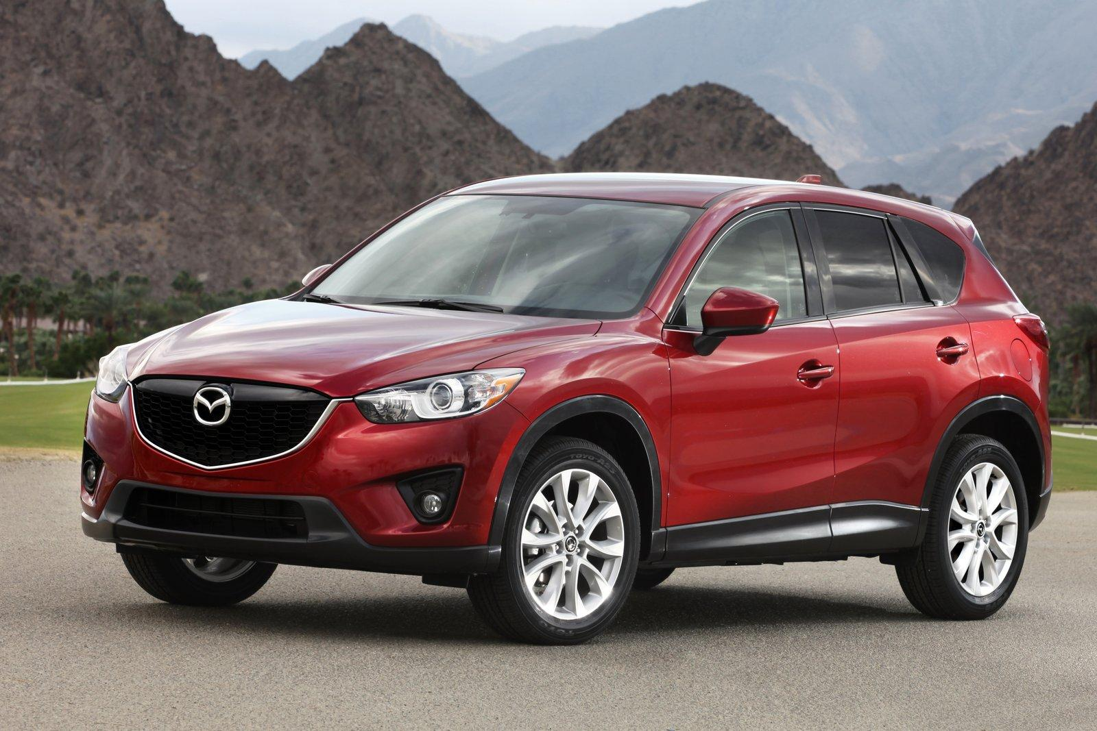 mazda cx 5 crossover suv launched in japan. Black Bedroom Furniture Sets. Home Design Ideas