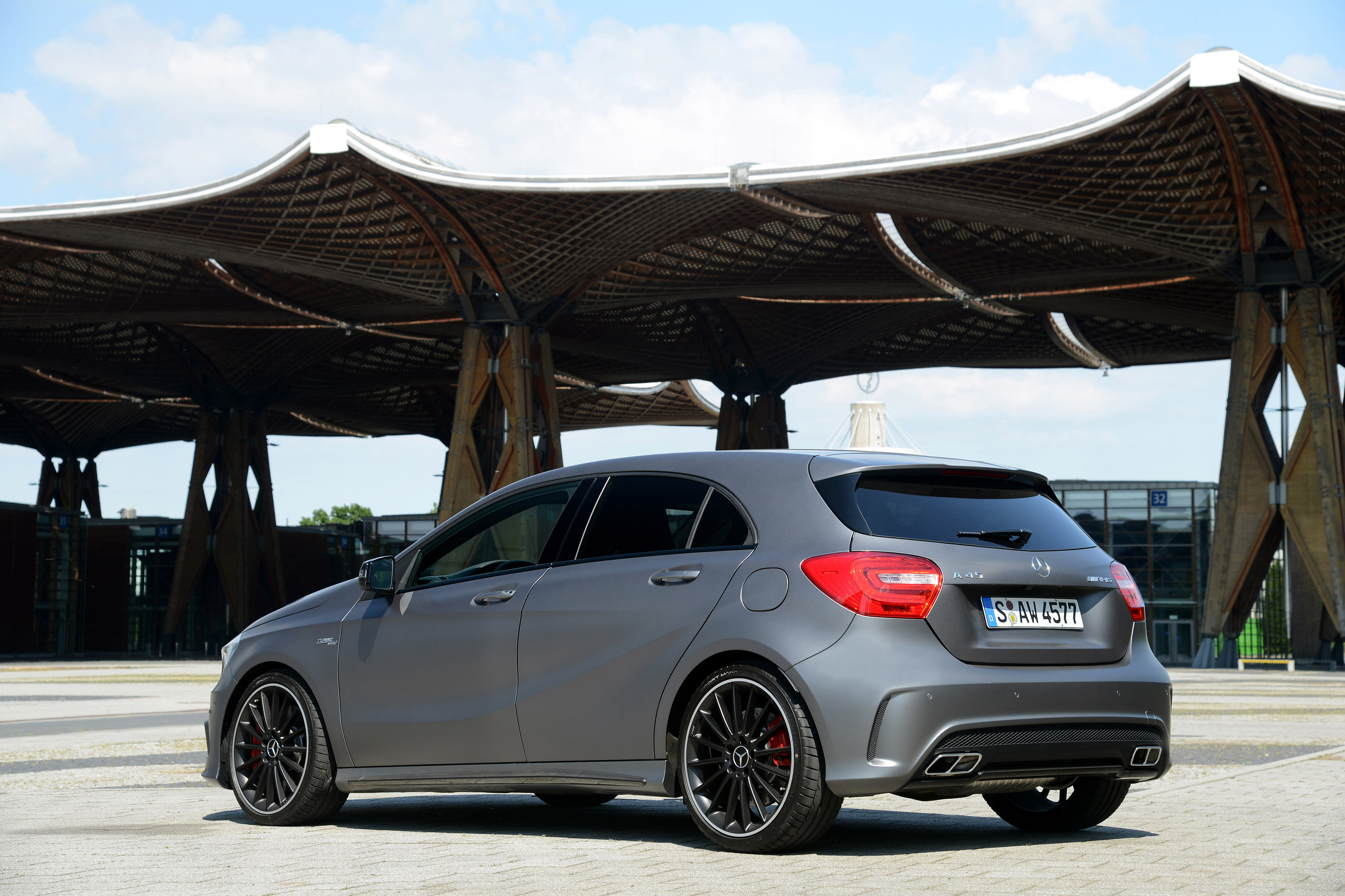 2013 mercedes benz a 45 amg uk price 37 845 for Price for mercedes benz