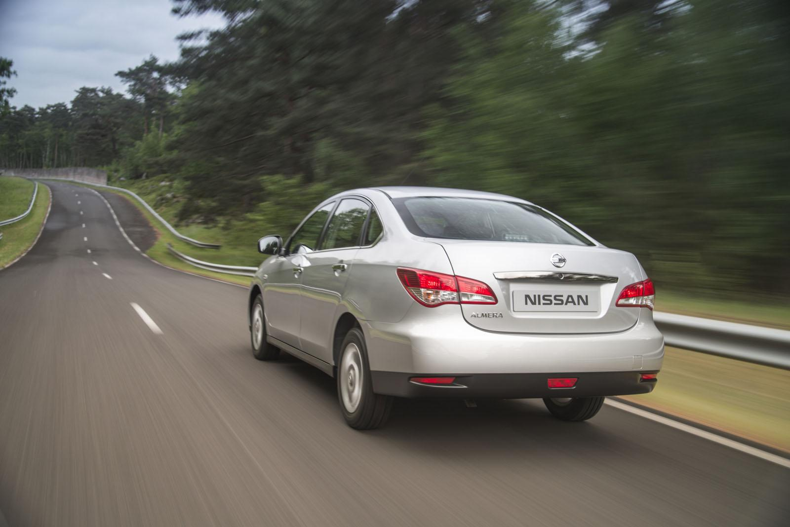 2013 Nissan Almera For Russia Video