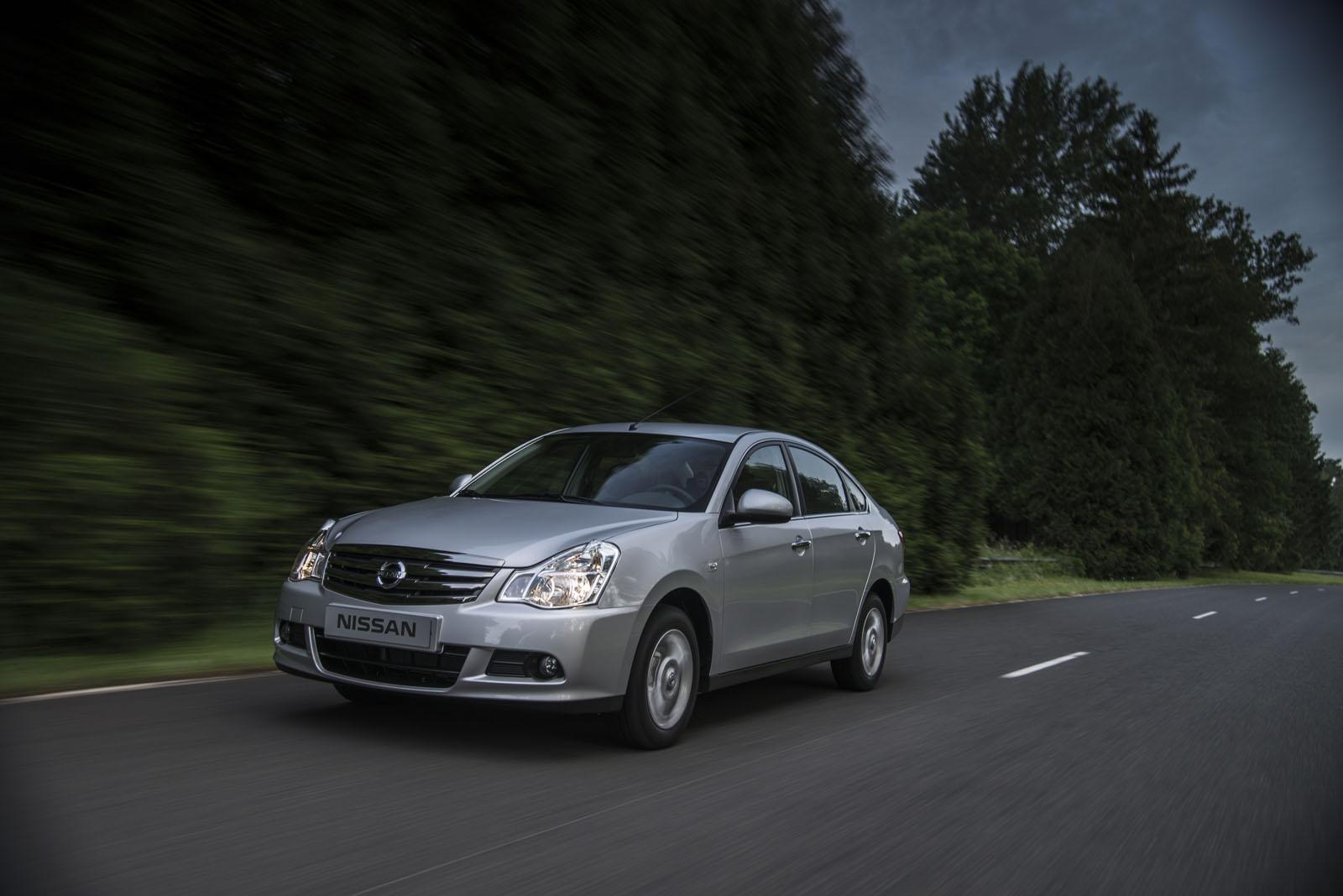 2013 Nissan Almera For Russia Video