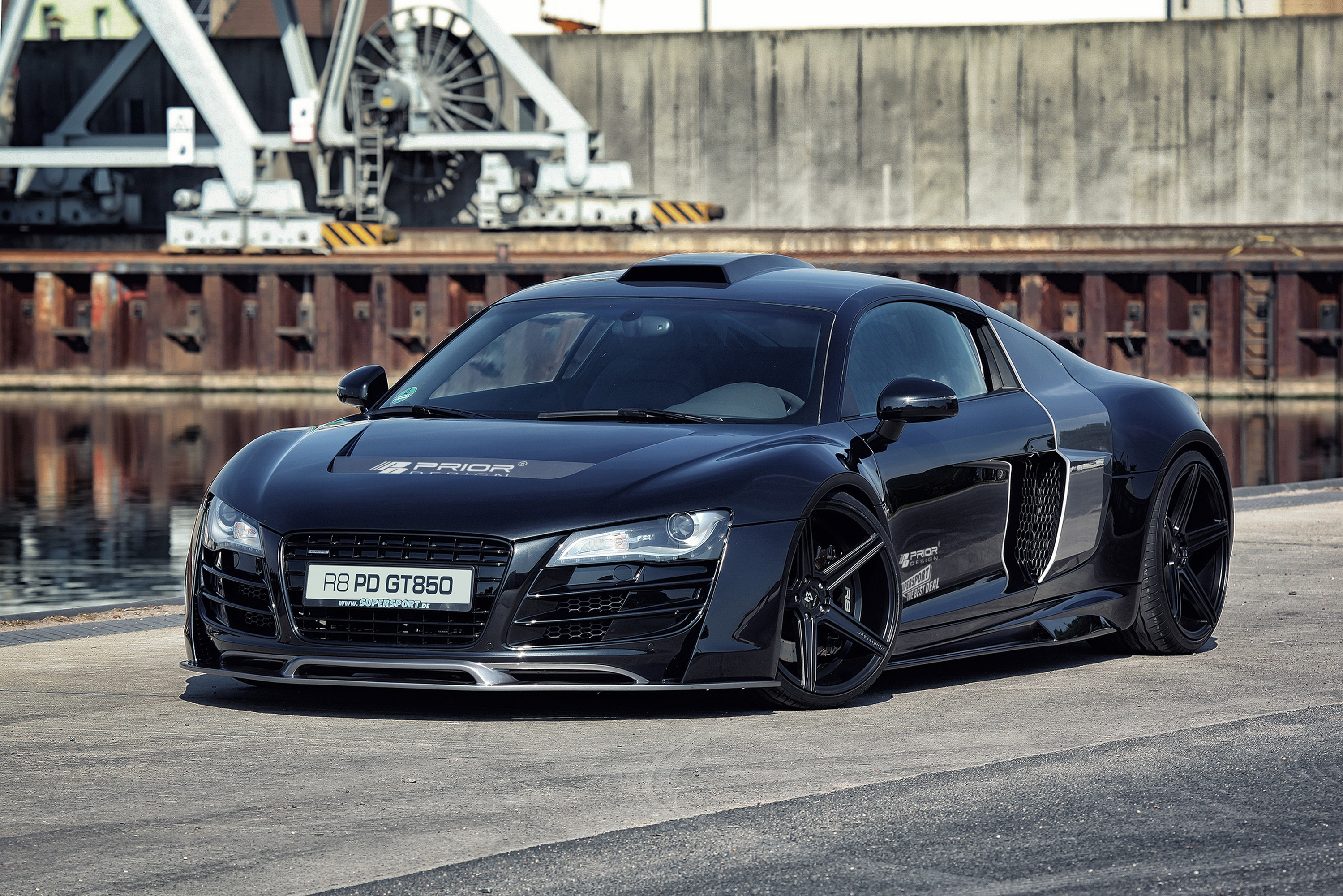 New Photoshoot For 2013 Prior Design Audi R8 Pd Gt850
