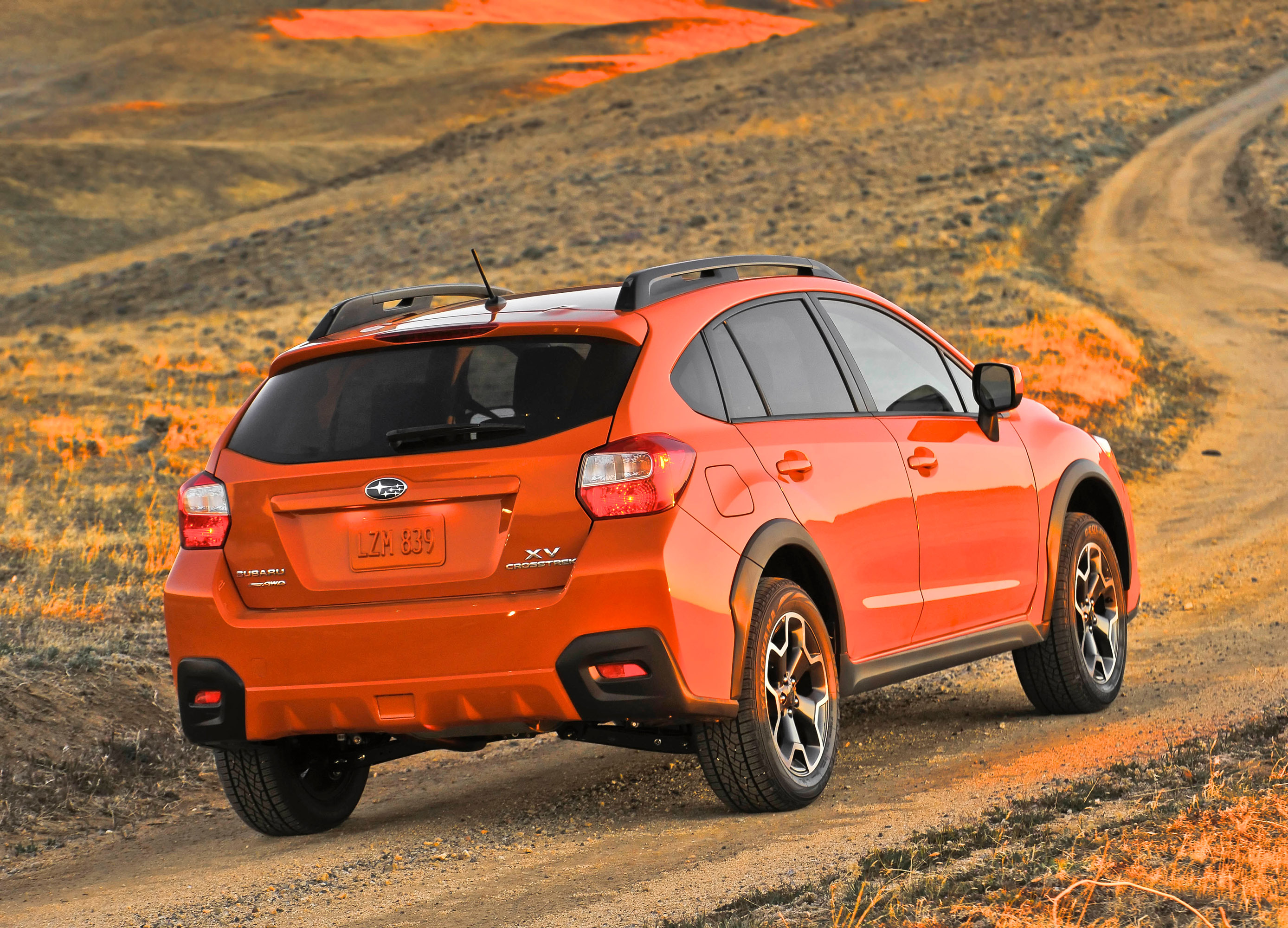 2014 subaru xv receives number of upgrades. Black Bedroom Furniture Sets. Home Design Ideas