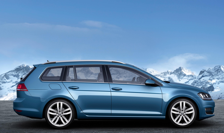 Geneva Motor Show 2013 Volkswagen Golf Estate