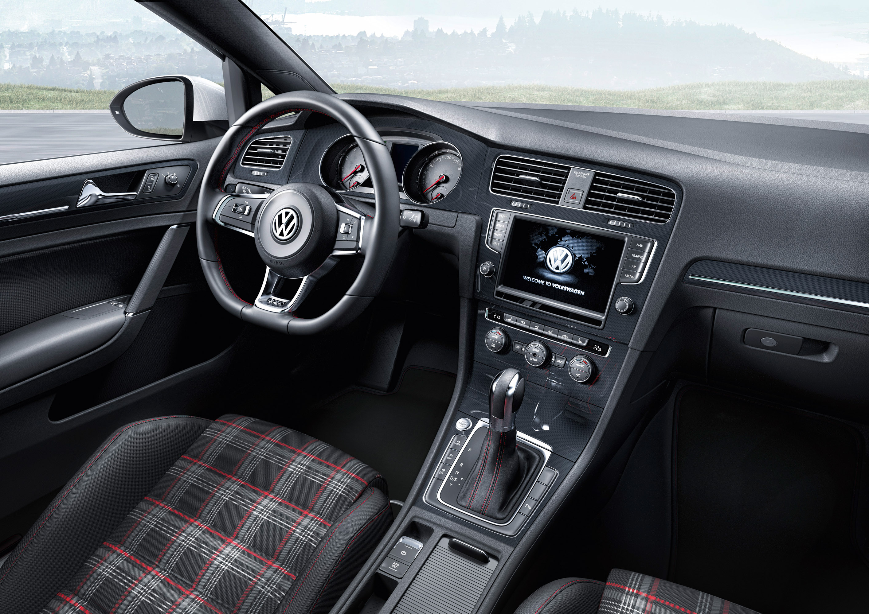 Volkswagen Golf VII GTI Price - 2013 volkswagen golf gti interior