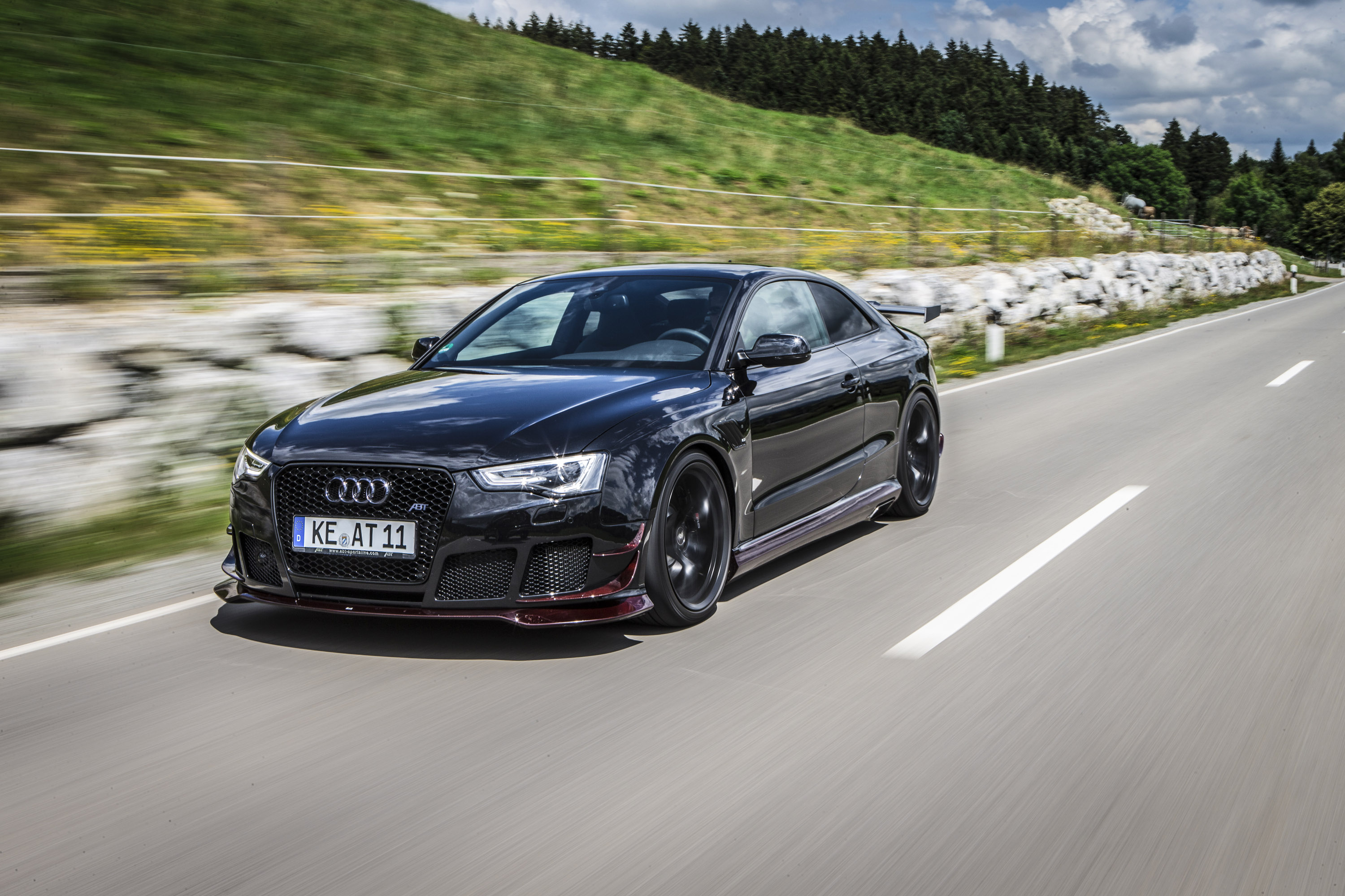 2014 abt audi rs5 r is capable of reaching top speed of 290 km h. Black Bedroom Furniture Sets. Home Design Ideas