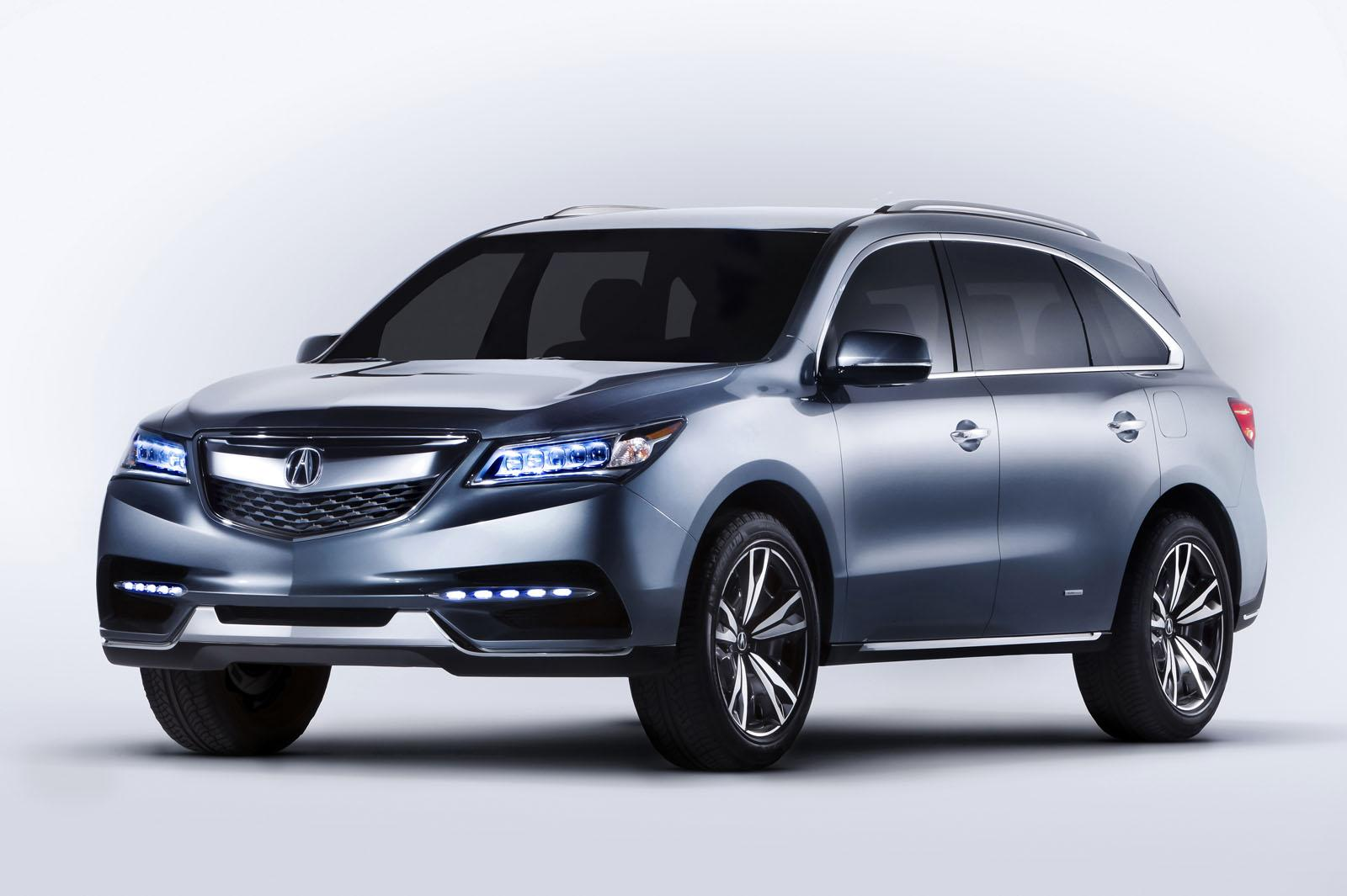 2014 acura mdx at the naias. Black Bedroom Furniture Sets. Home Design Ideas