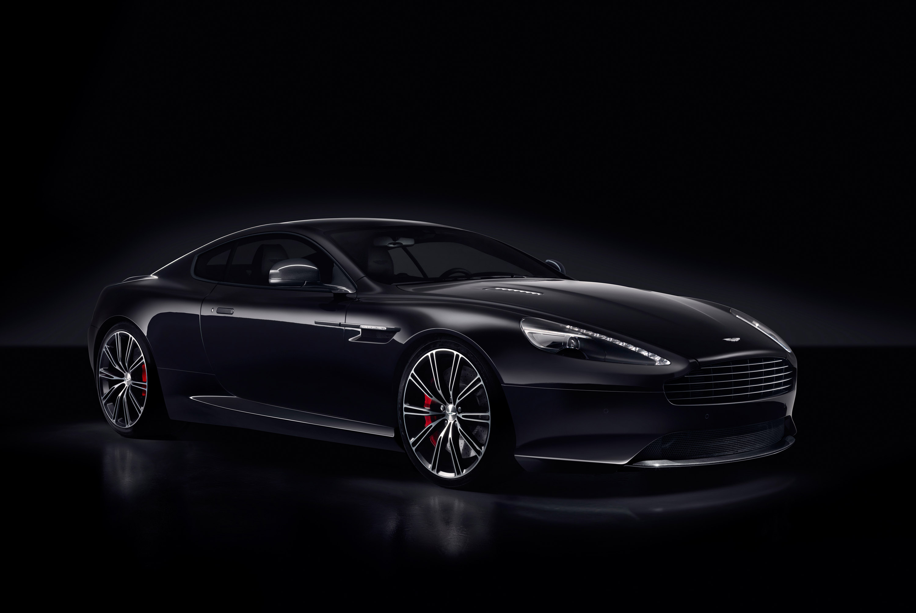 2014 Aston Martin V8 Vantage N430 And DB9 Carbon Black And