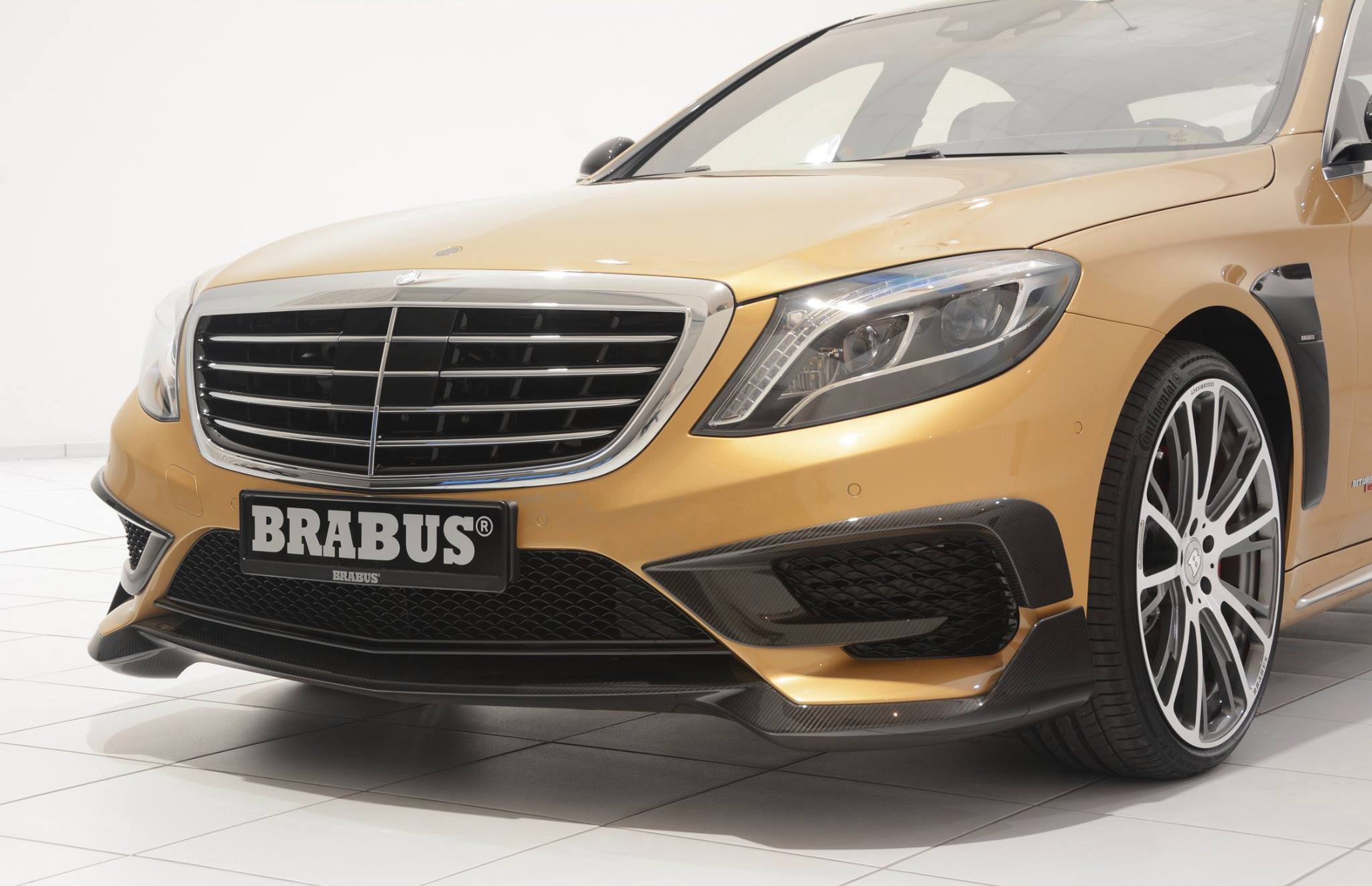 Mercedes benz s63 amg reworked by brabus for Mercedes benz s63 amg biturbo