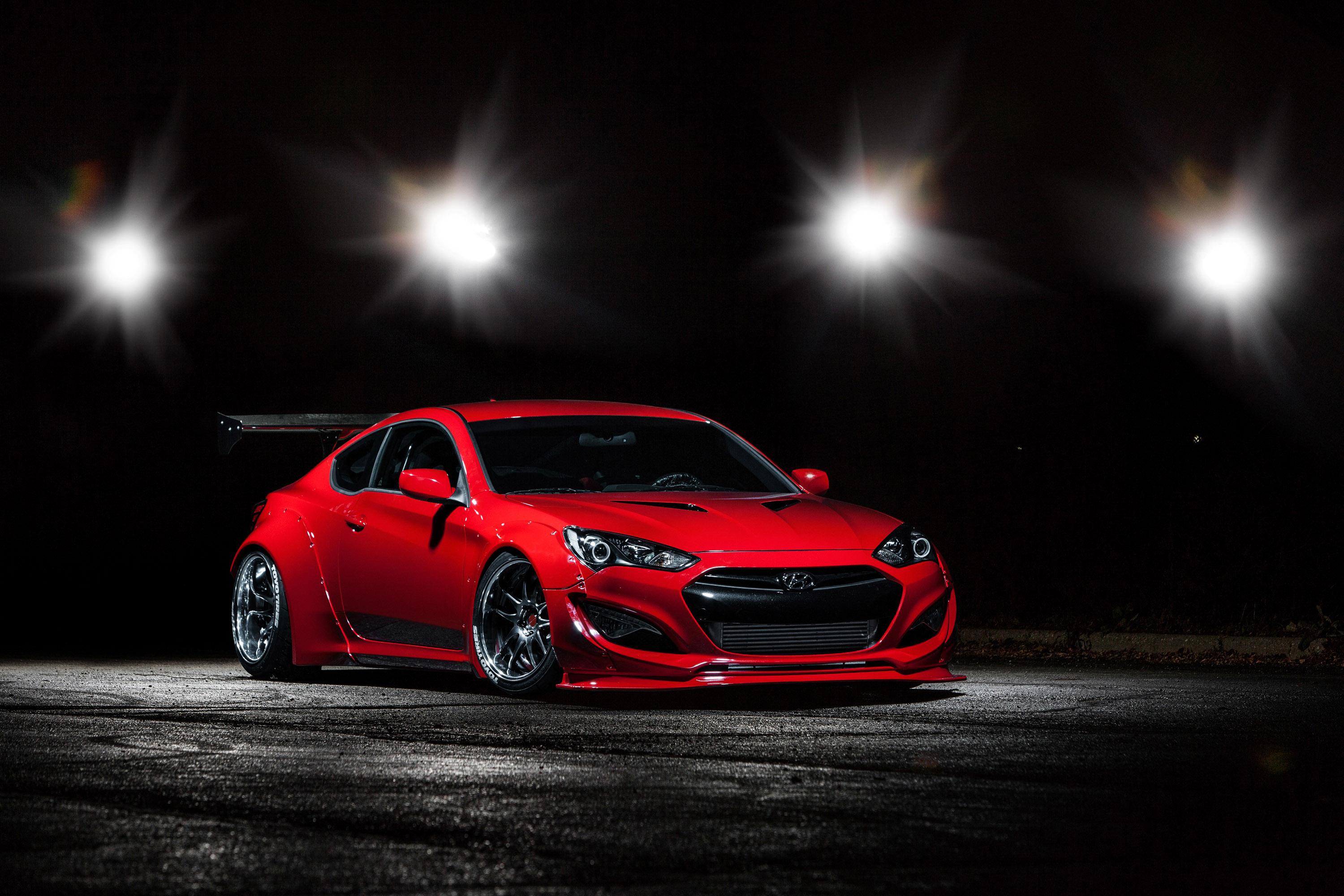 Cost To Paint A Car >> BTR Hyundai Genesis Coupe in Preparation for SEMA Show