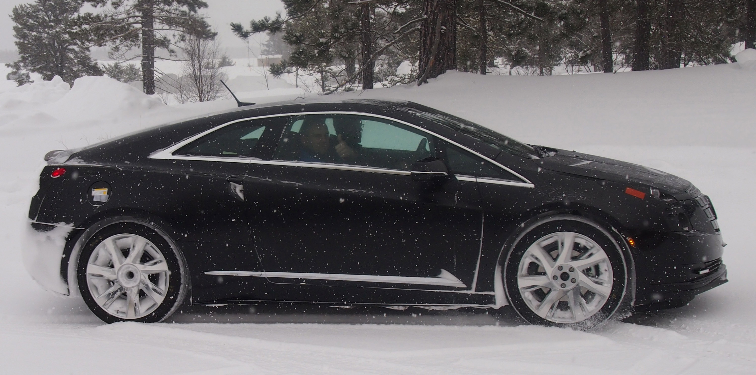 drives elr sale front cars graphite review view gray for reviews cadillac test and photos