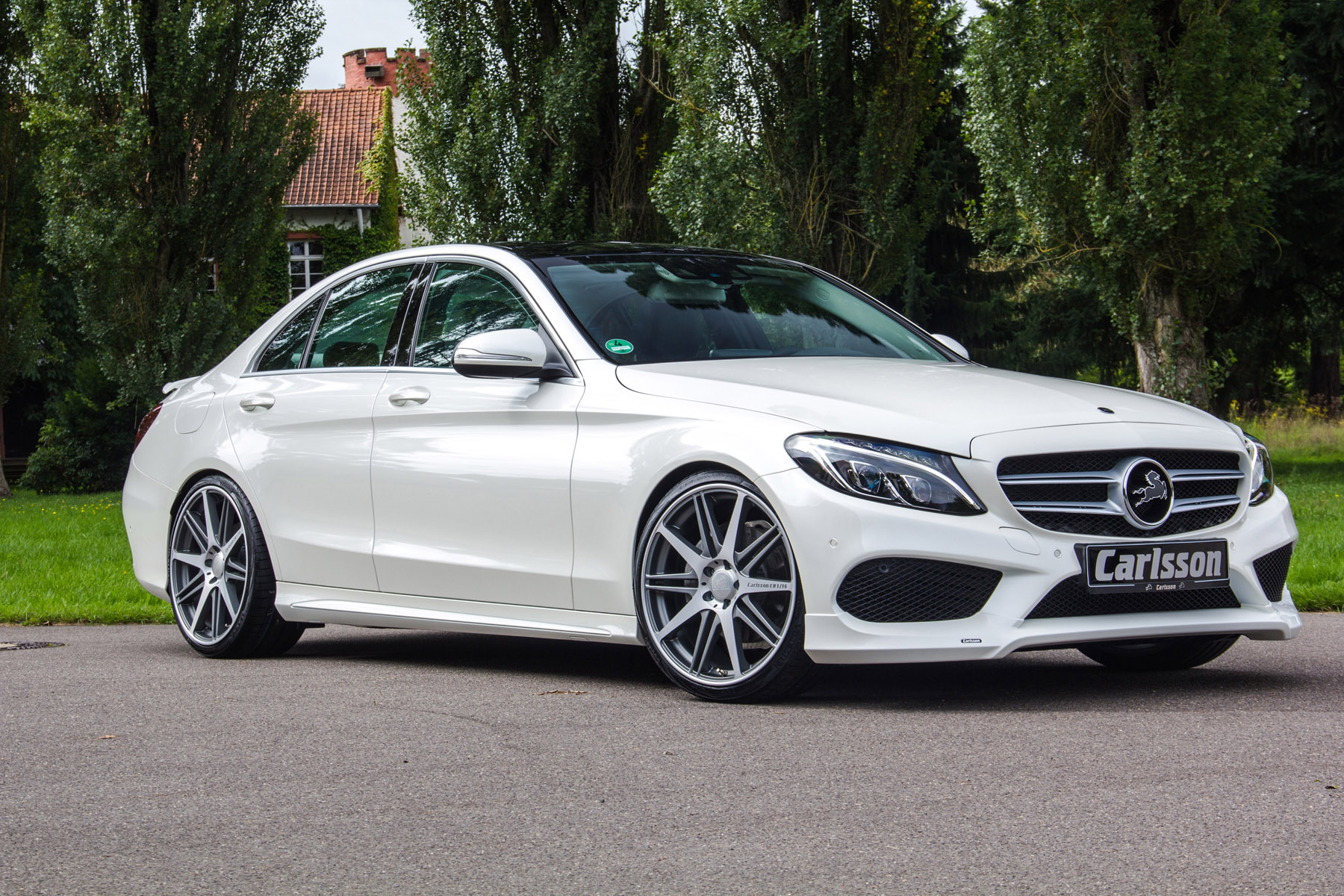 Carlsson tunes the amg version of mercedes benz c class for Mercedes benz 300 amg