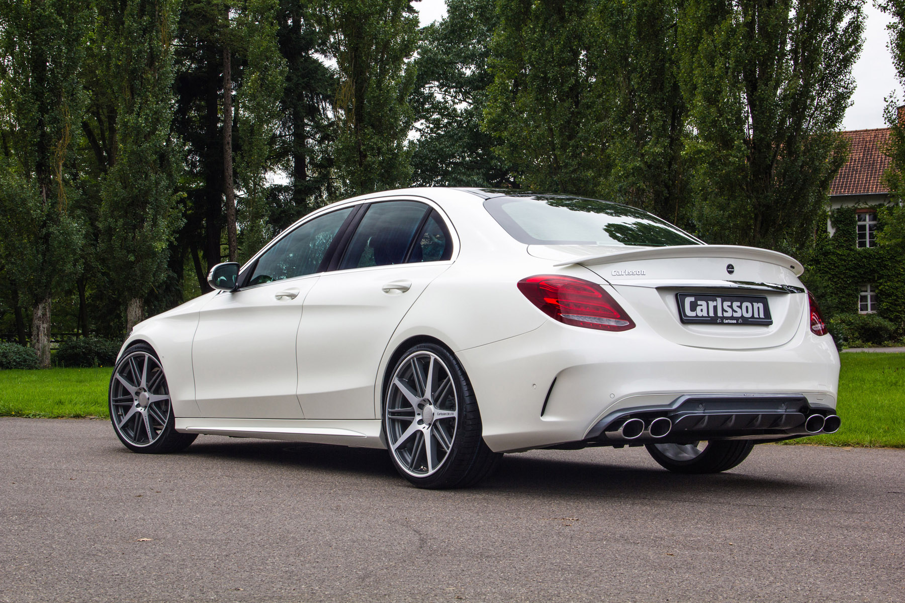 carlsson tunes the amg version of mercedes benz c class. Black Bedroom Furniture Sets. Home Design Ideas
