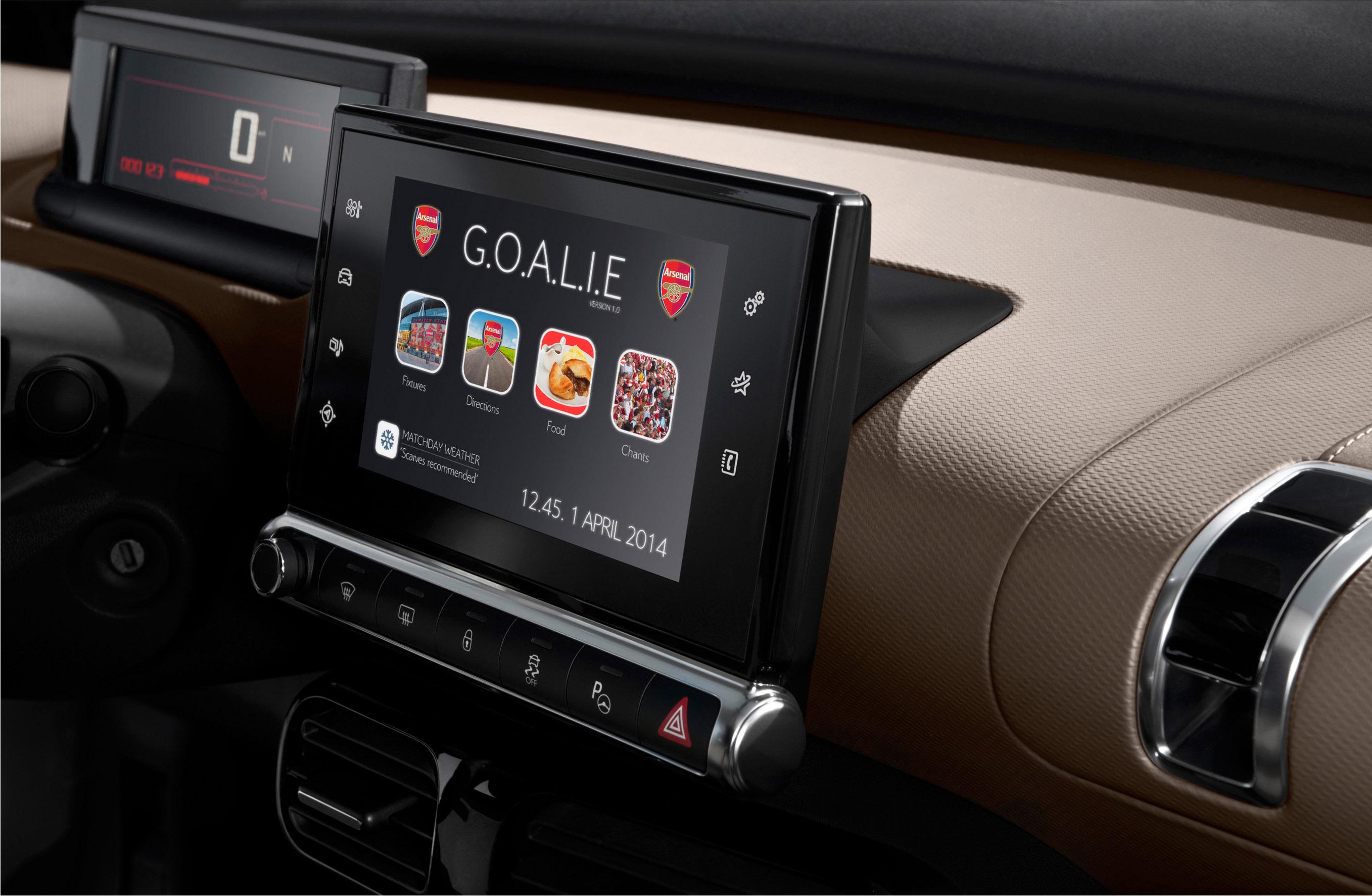 C4 On The Go >> 2014 Citroen C4 Cactus Arsenal Edition