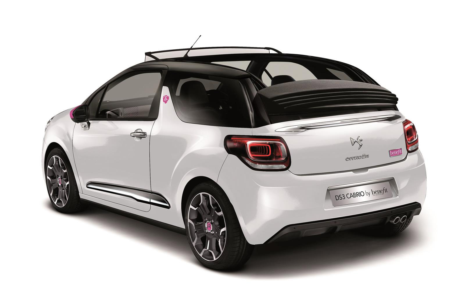 citroen ds3 cabrio dstyle by benefit special edition. Black Bedroom Furniture Sets. Home Design Ideas