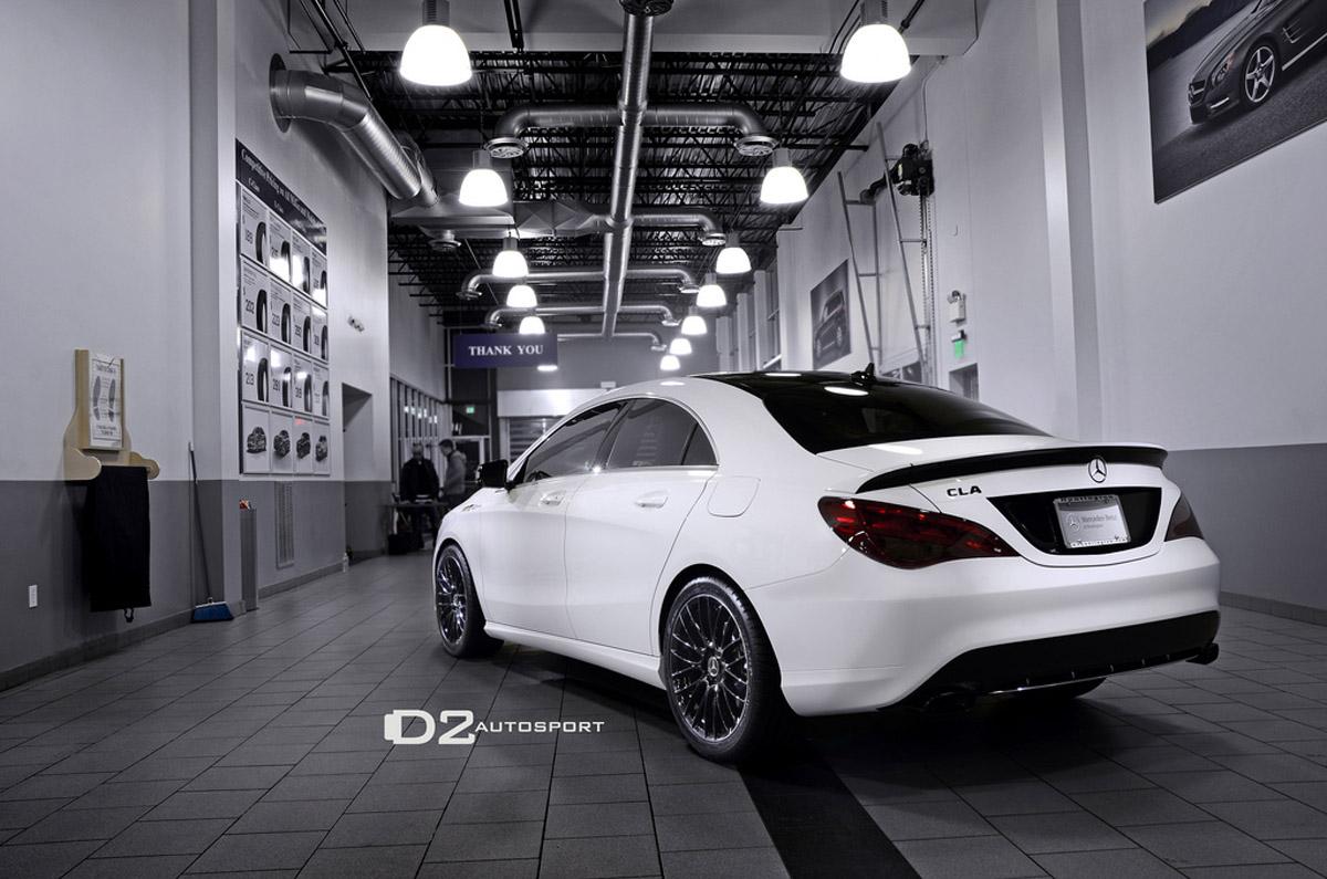 D2autosport Reveals 2014 D2edition Mercedes Benz Cla250