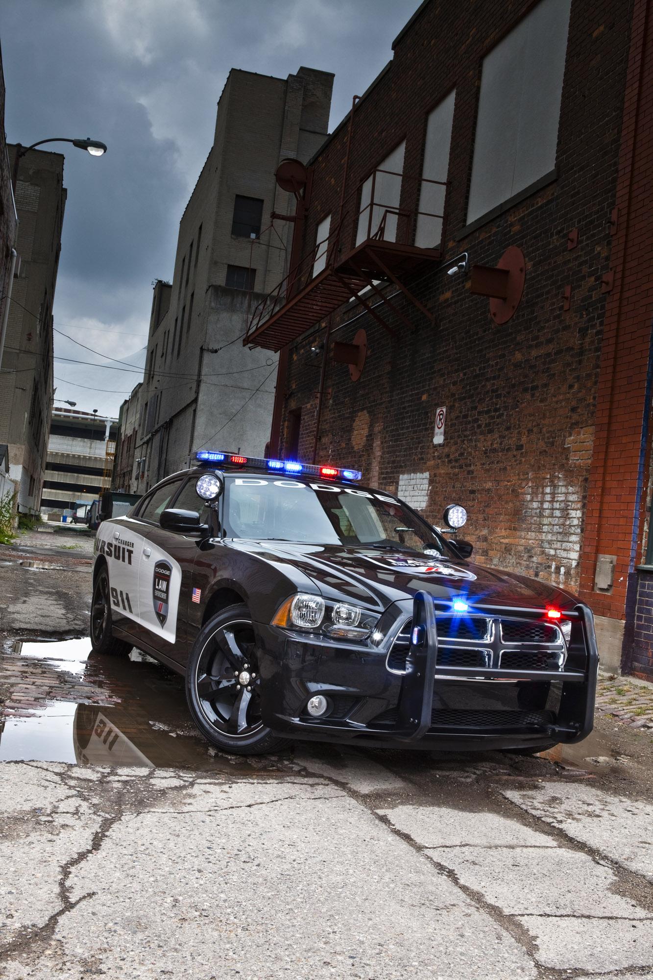 Law Enforcement Agencies Demanding 2014 Dodge Charger