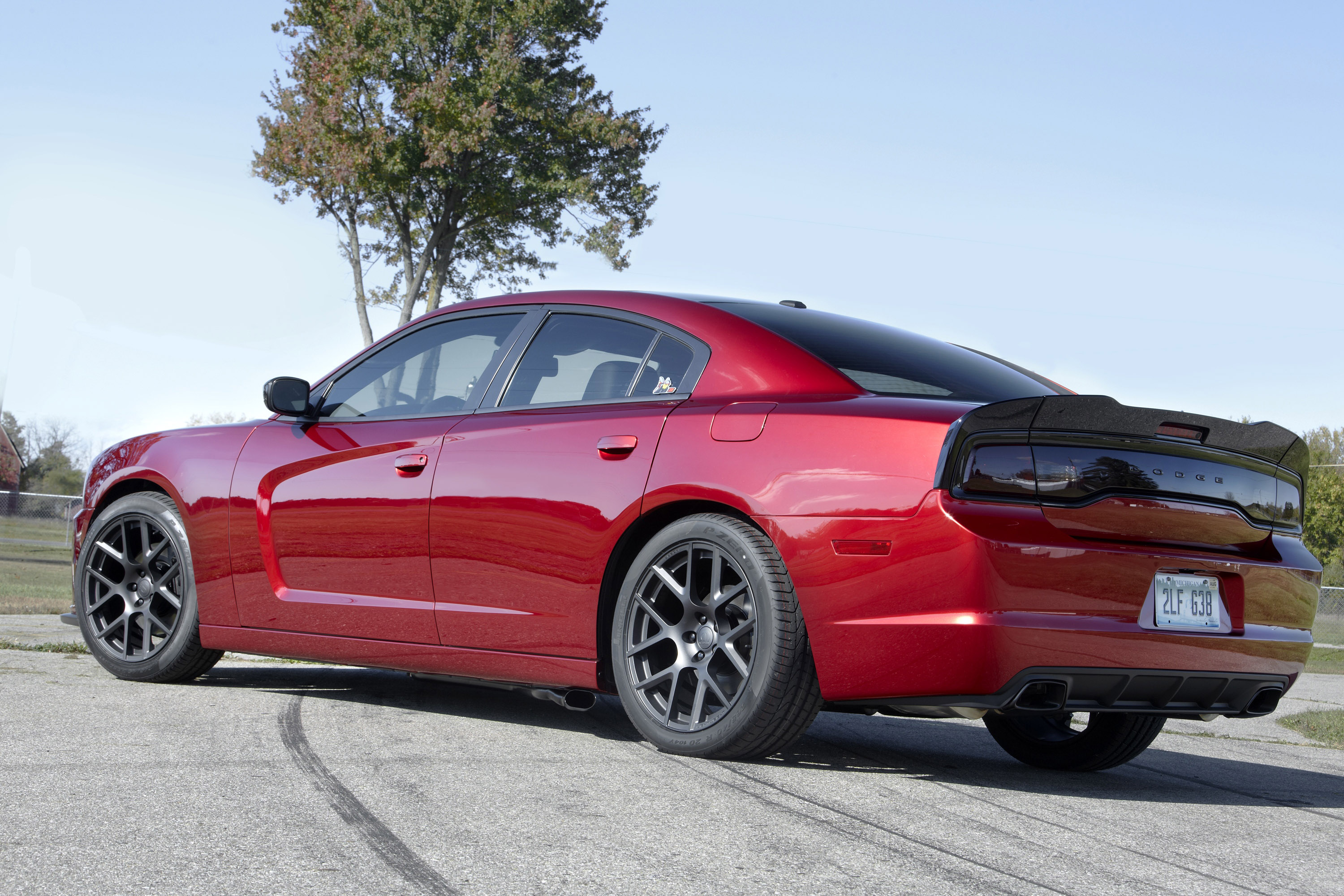 2014 dodge charger rt with scat package 3 - Dodge Charger 2014 Red
