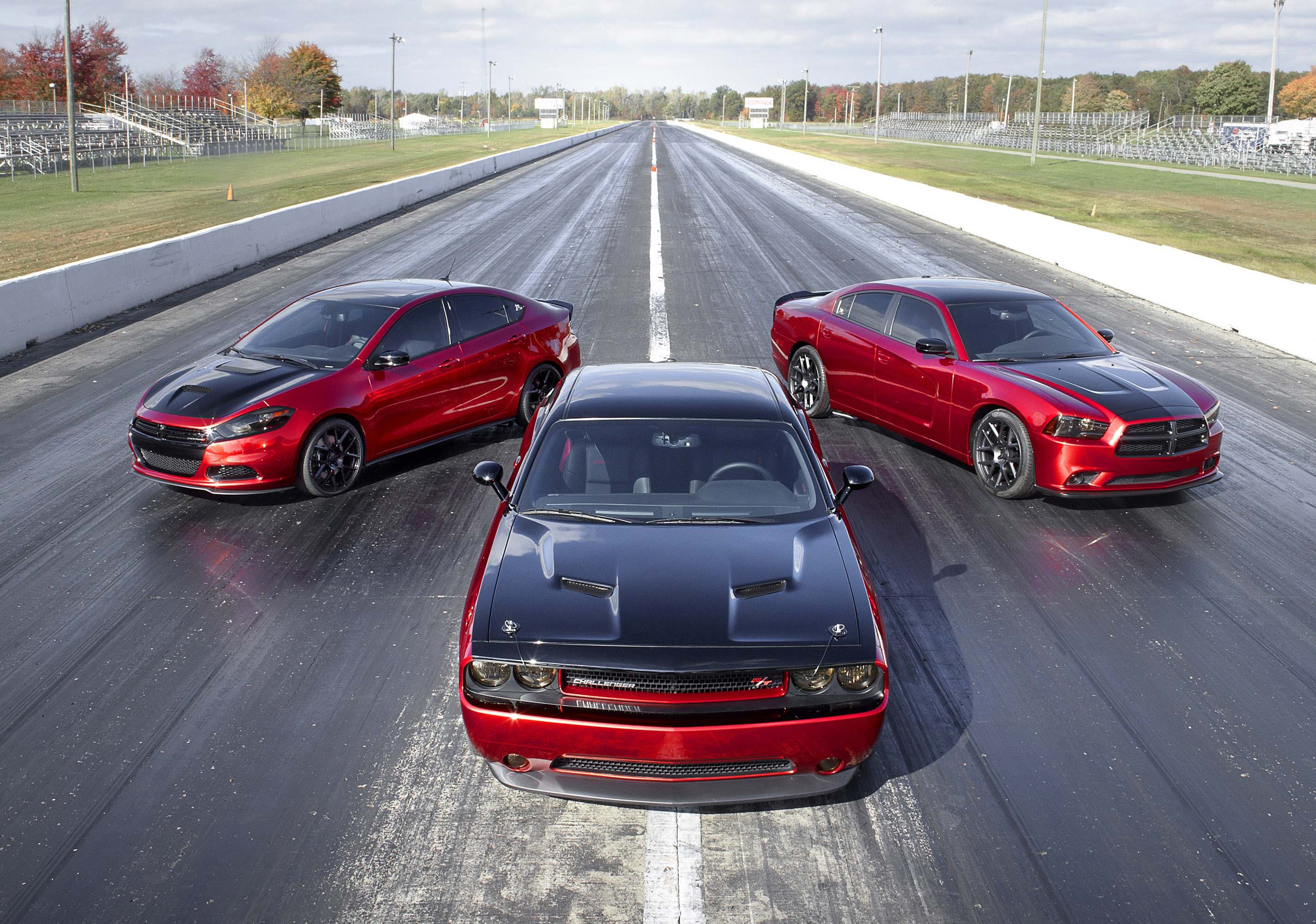 2014 Dodge Dart GT, Challenger R/T and Charger R/T Equipped With ...