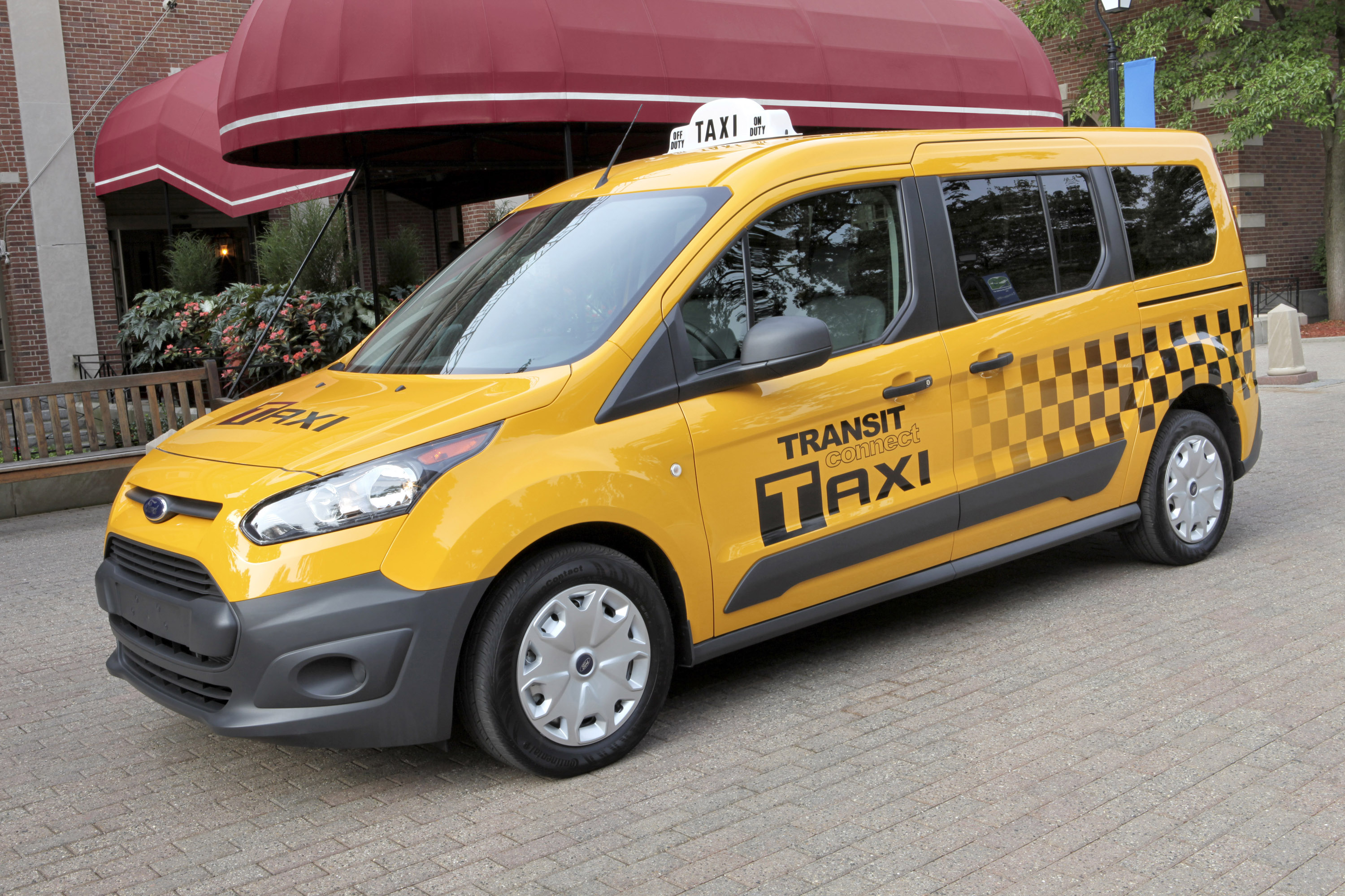 2014 ford transit connect taxi 2 of 7