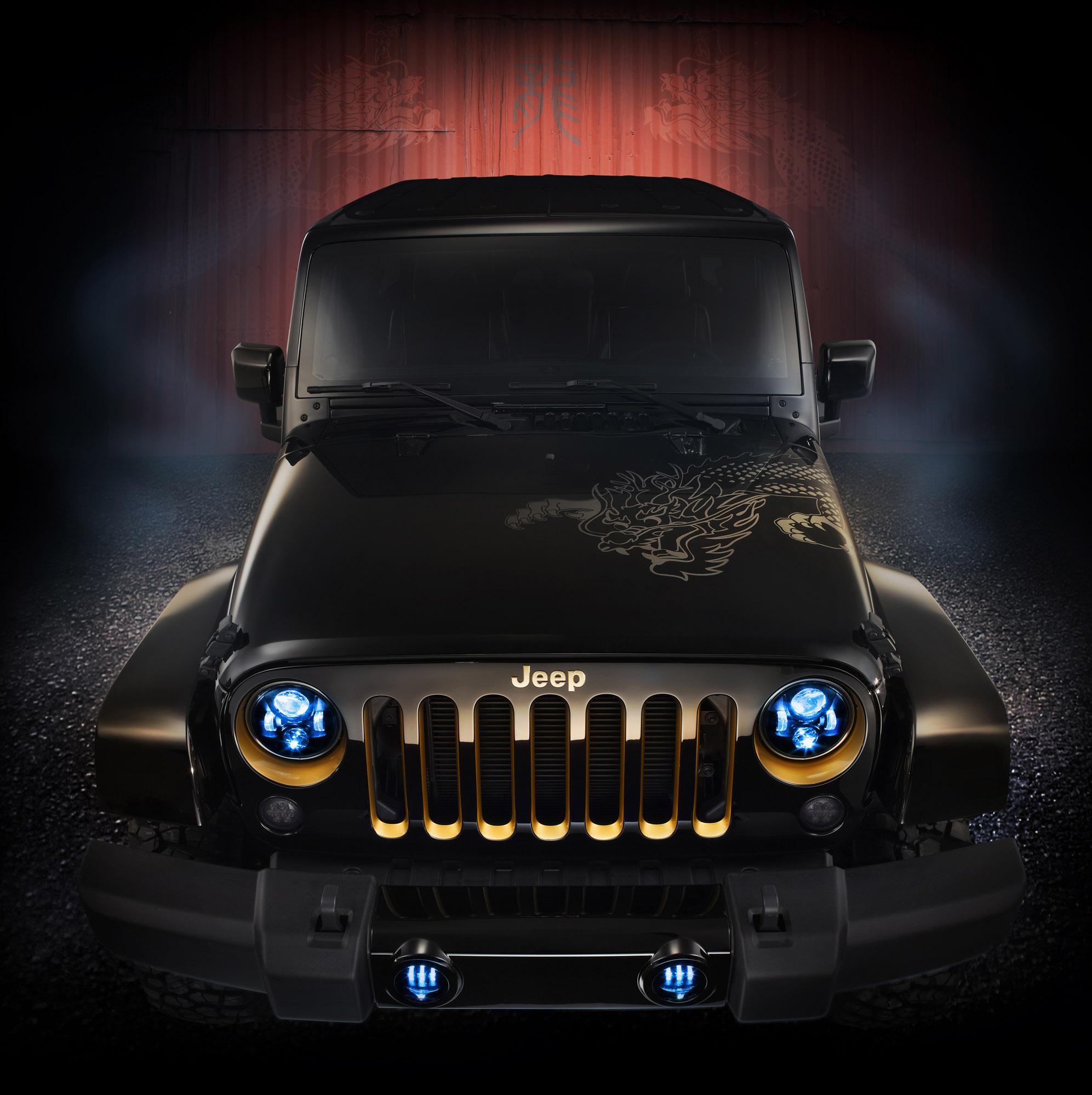 2014 Jeep Wrangler Dragon Edition - US Price $36,095