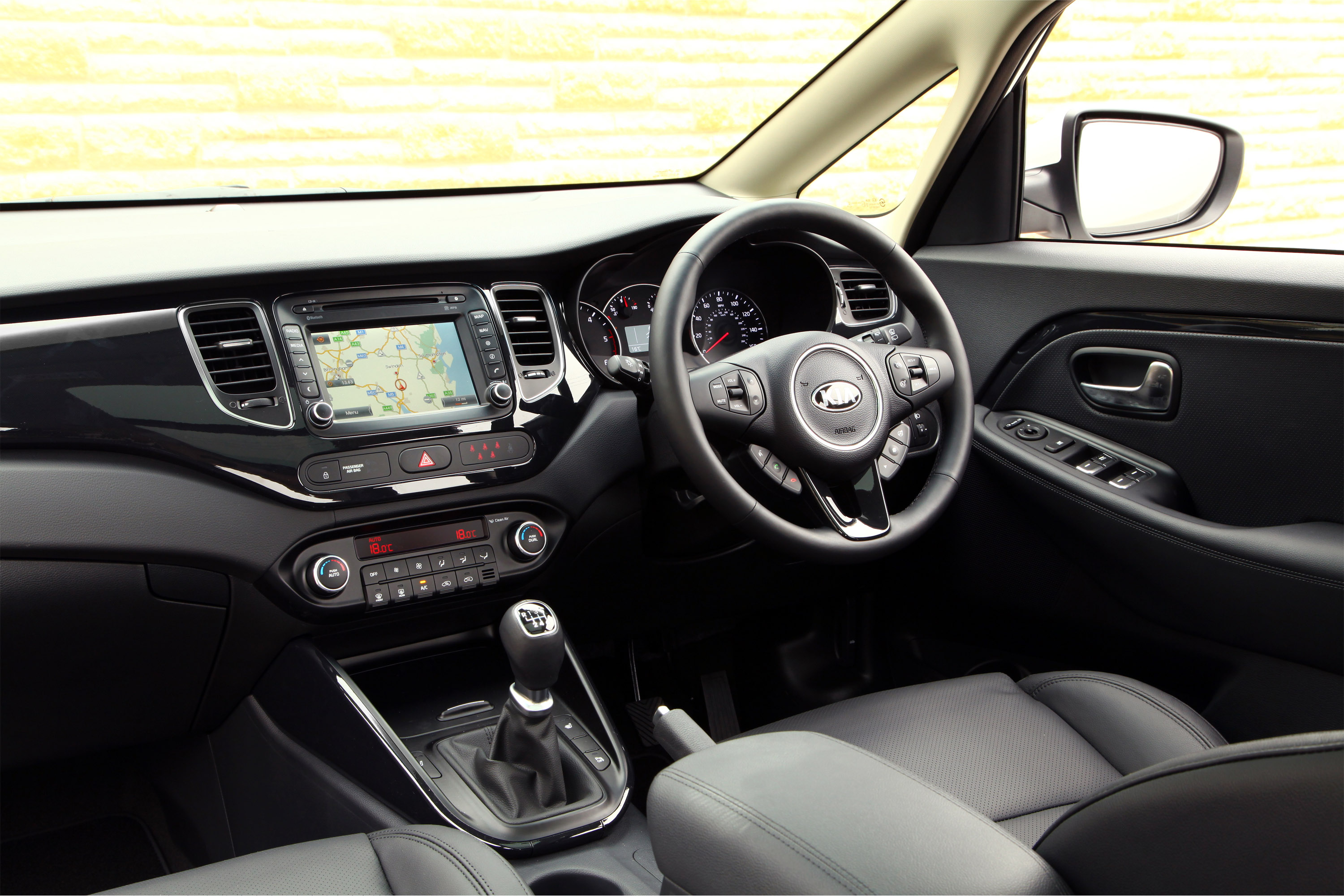 The 2014 Carens 3 Sat Nav is priced from £24,845 OTR.