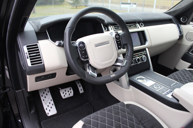 Lumma Design Range Rover Clr R Carbon Package