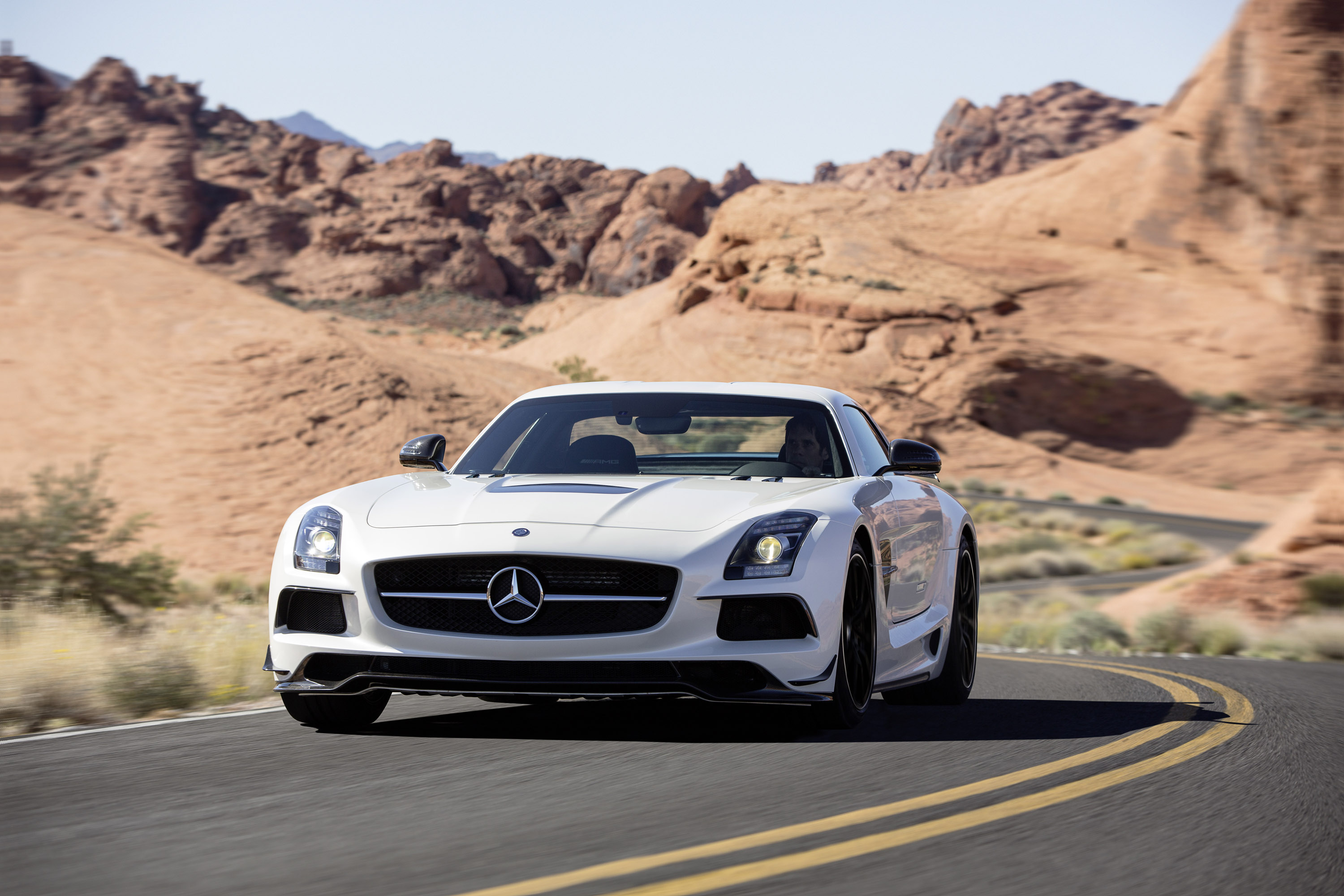 2017 Mercedes Benz Sls Amg Coupe Black Series
