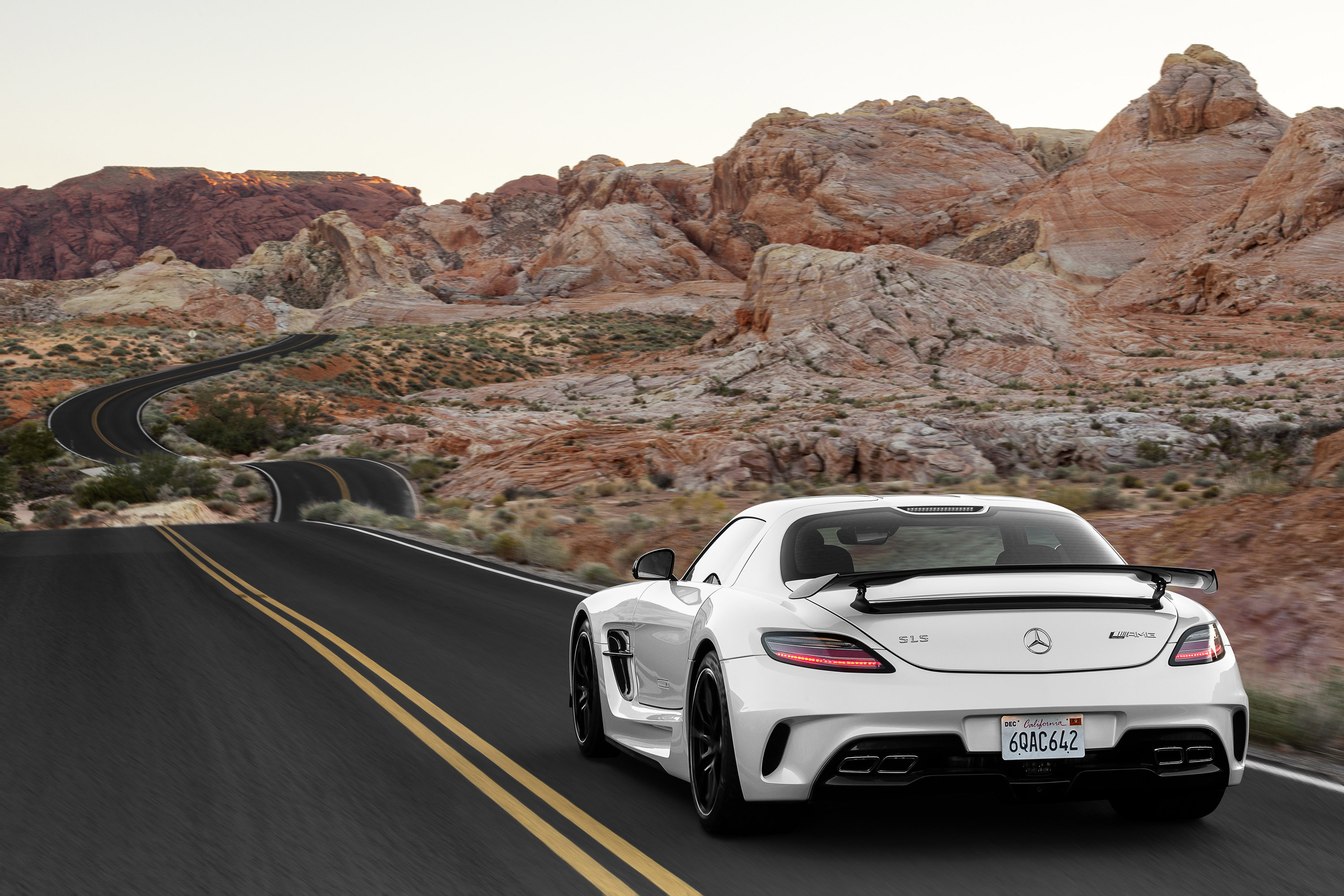 2014 Mercedes Benz SLS AMG Coupe Black Series, .