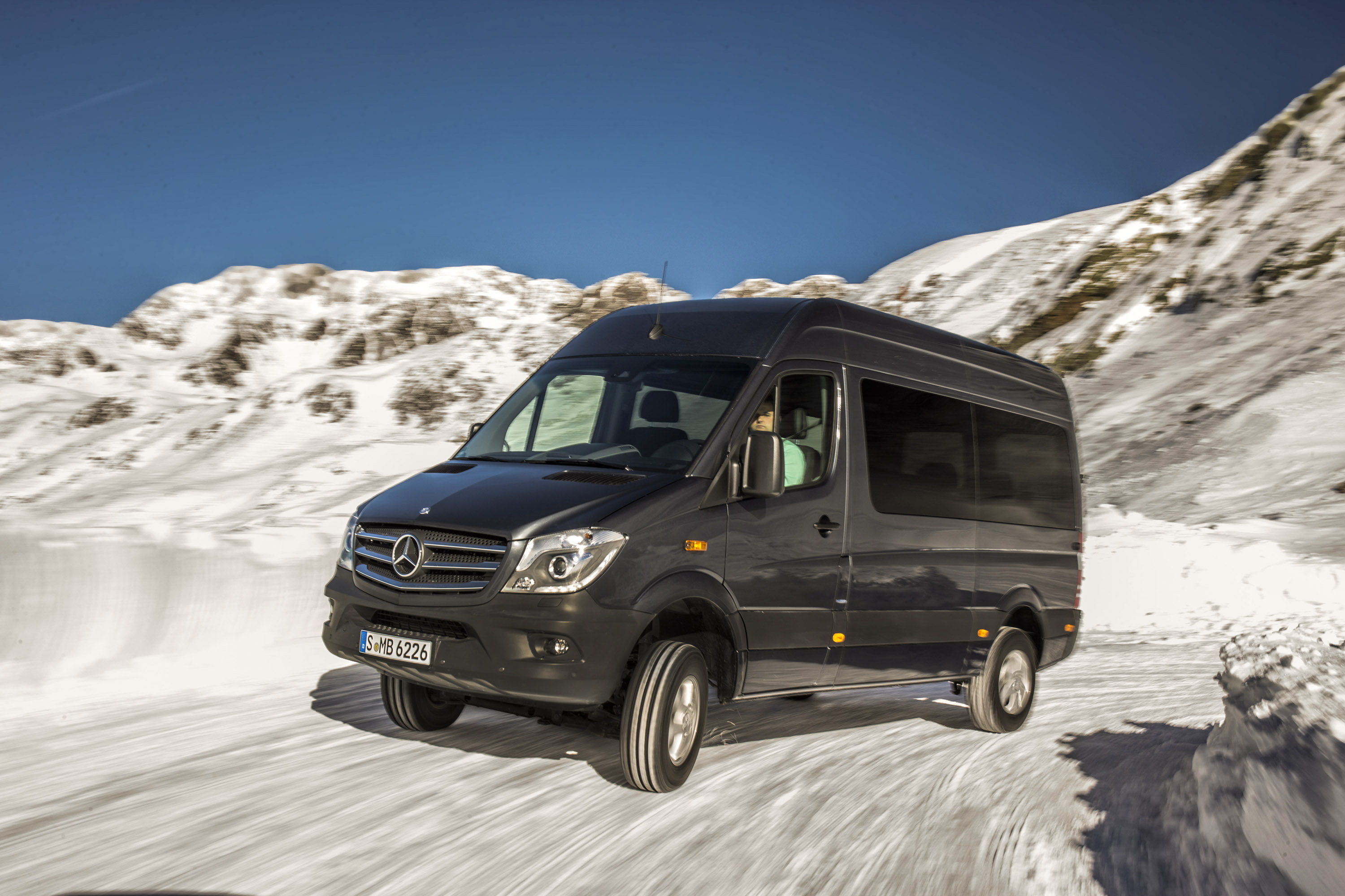 2014 Mercedes Benz Sprinter 4x4 Picture 92058