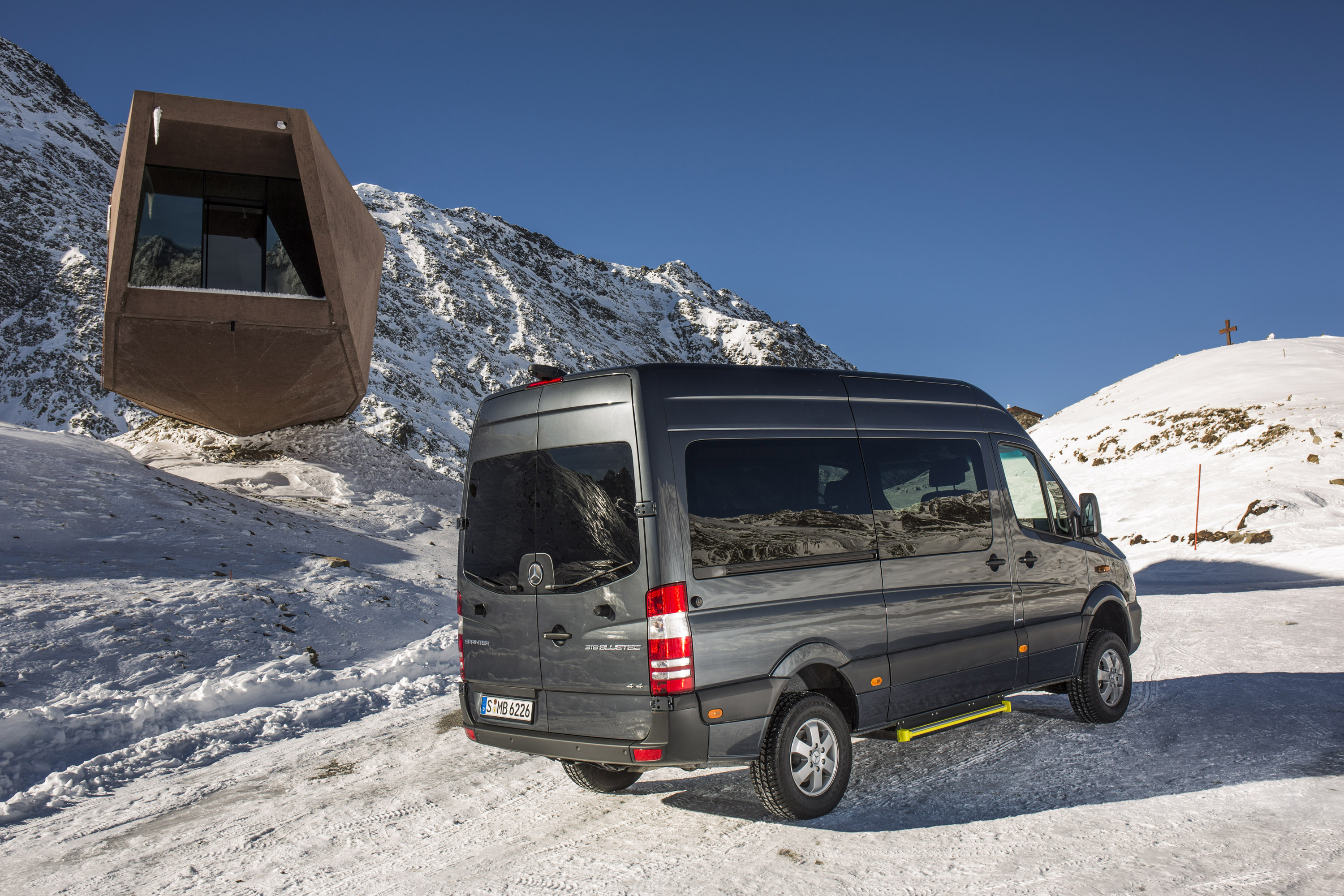 2014 Mercedes Benz Sprinter 4x4 Picture 92061