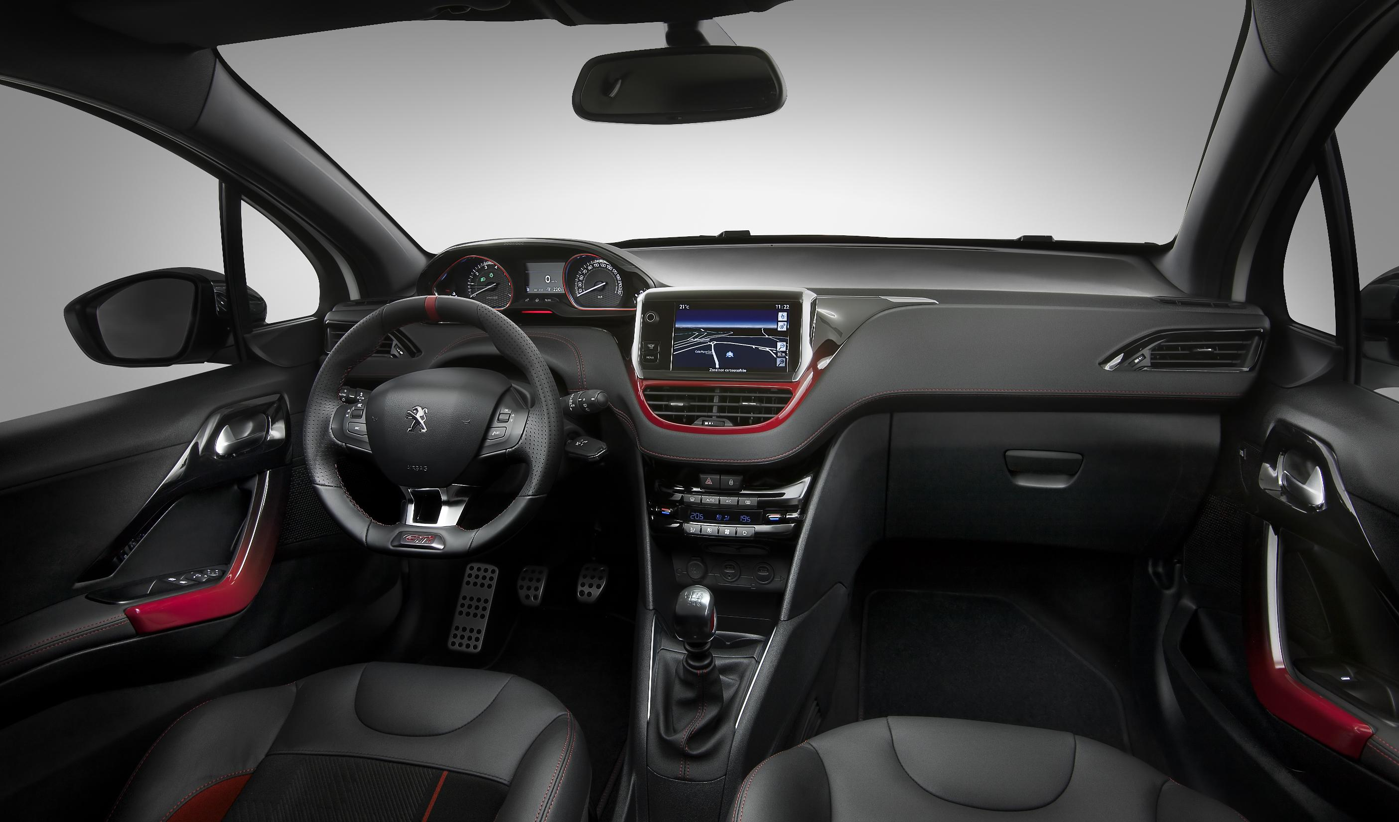 2014 peugeot 208 gti first official pictures and details. Black Bedroom Furniture Sets. Home Design Ideas