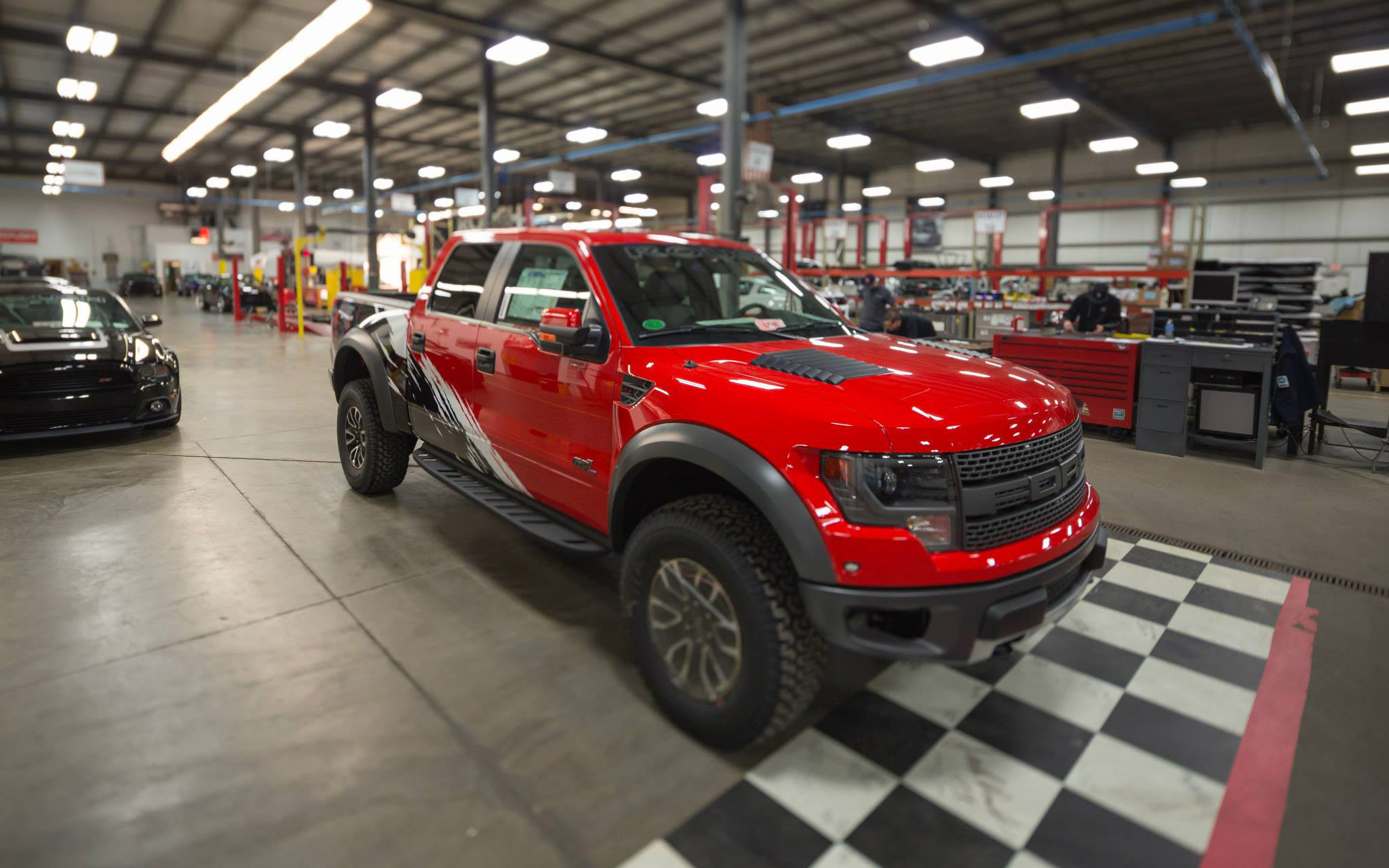 2014 Roush Off Road Ford F 150 Svt Raptor With Custom Graphics