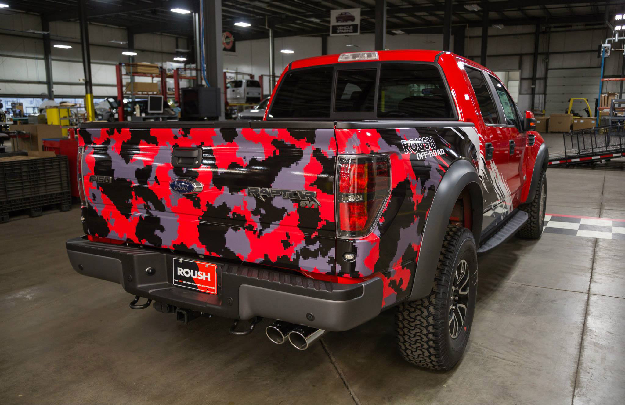 2014 Roush Off Road Ford F 150 Svt Raptor Picture 93809