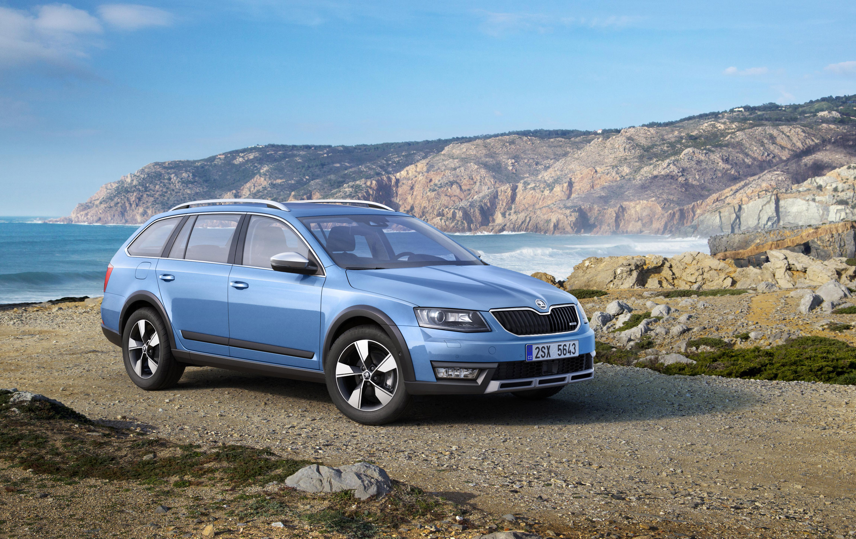 2014 skoda octavia scout debuts at geneva. Black Bedroom Furniture Sets. Home Design Ideas