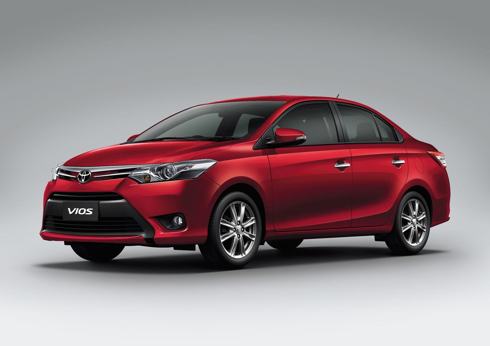 2014 Toyota Vios At The Bangkok Motor Show